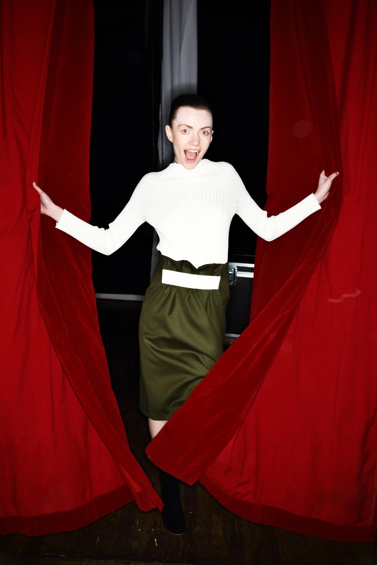Greta Gram AW1617 Fashion show at Berns Stockholm Backstage
