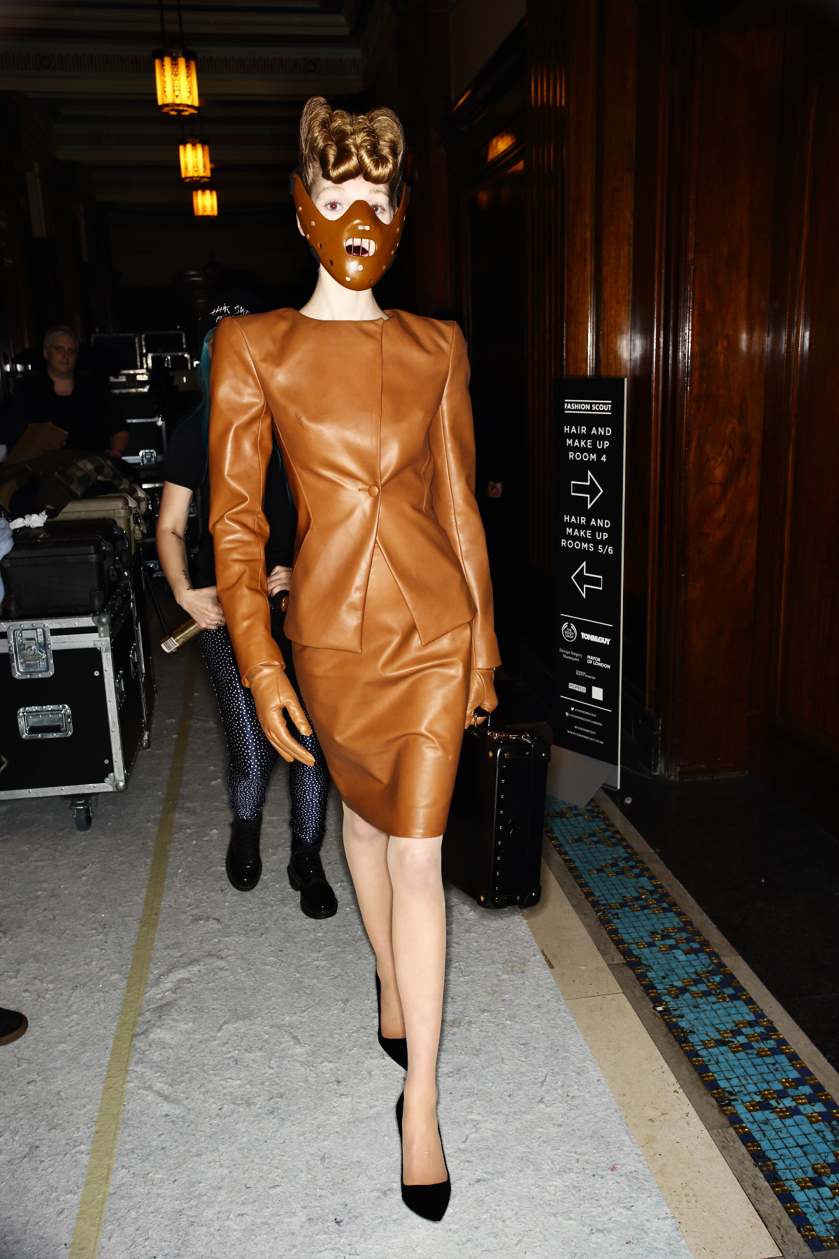 Sonny Vandevelde - Gareth Pugh AW1617 Fashion Show London ...