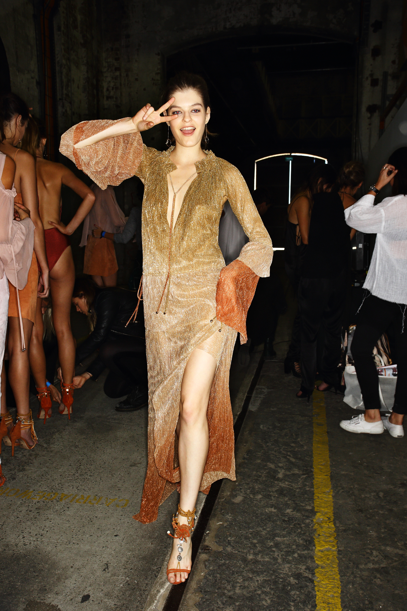 Bec & Bridge SS1617 Fashion Show Sydney Backstage