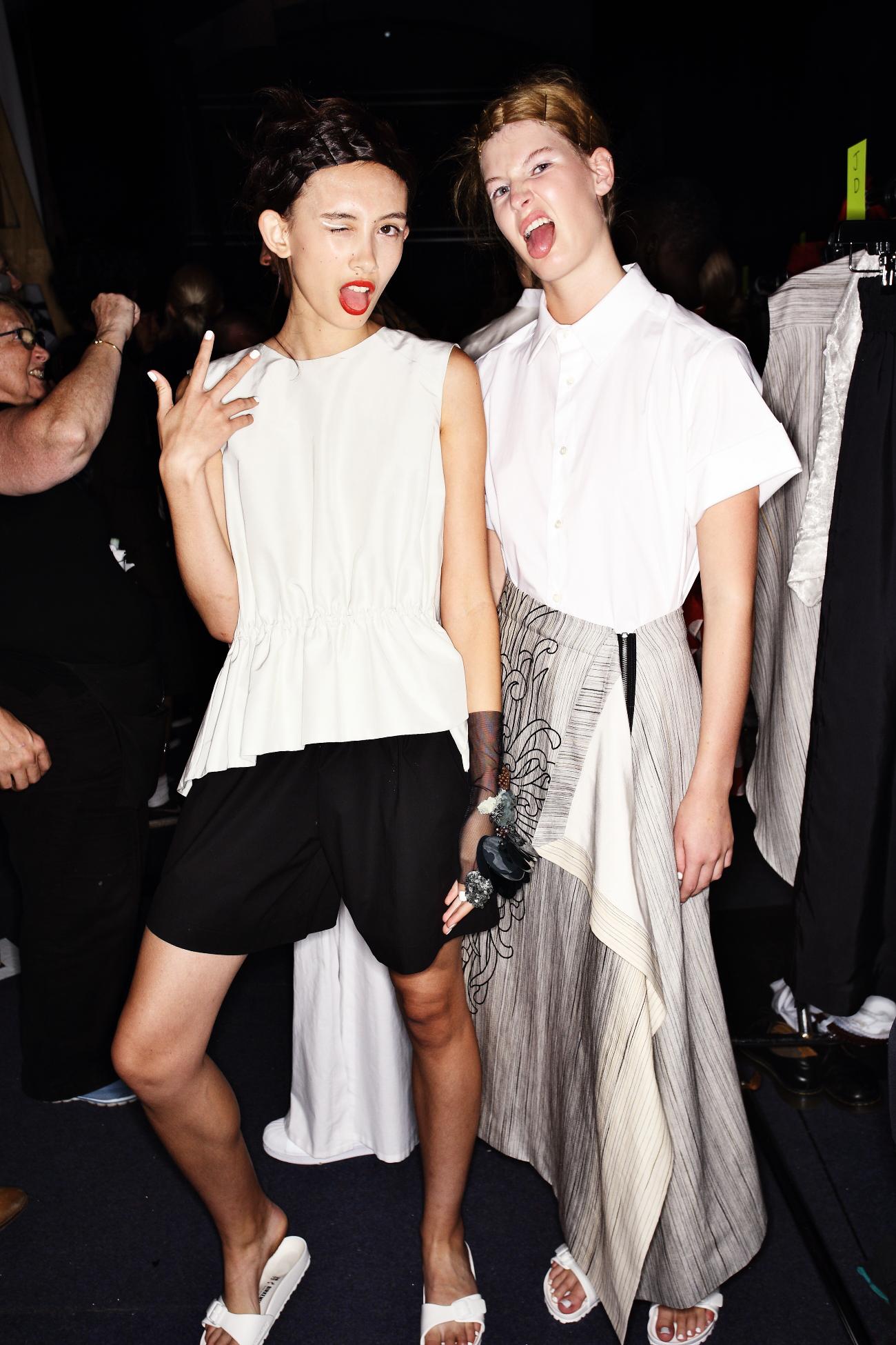 Akira SS1617 Fashion Show Sydney Backstage