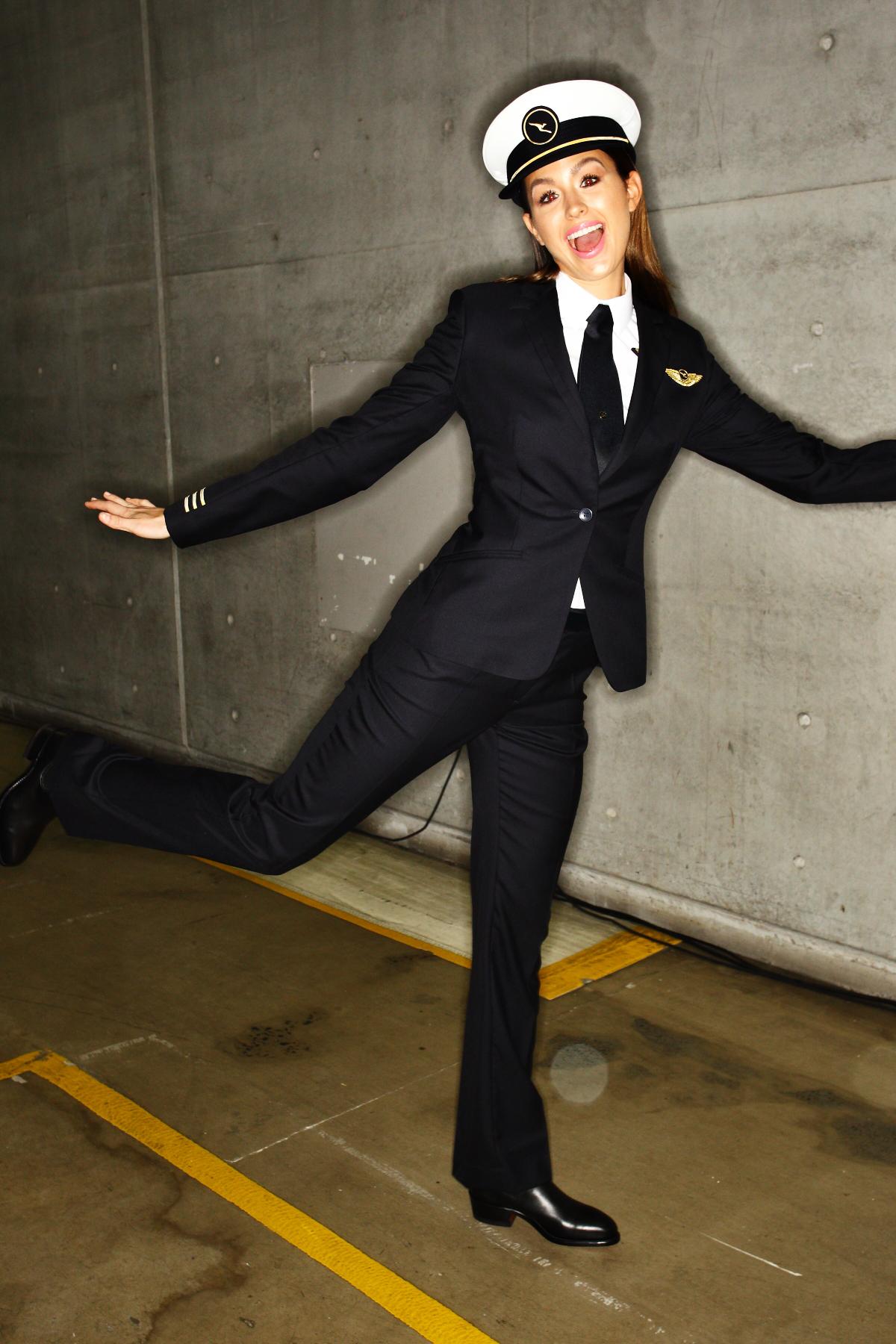Qantas Pilot Uniform Launch - Pre show