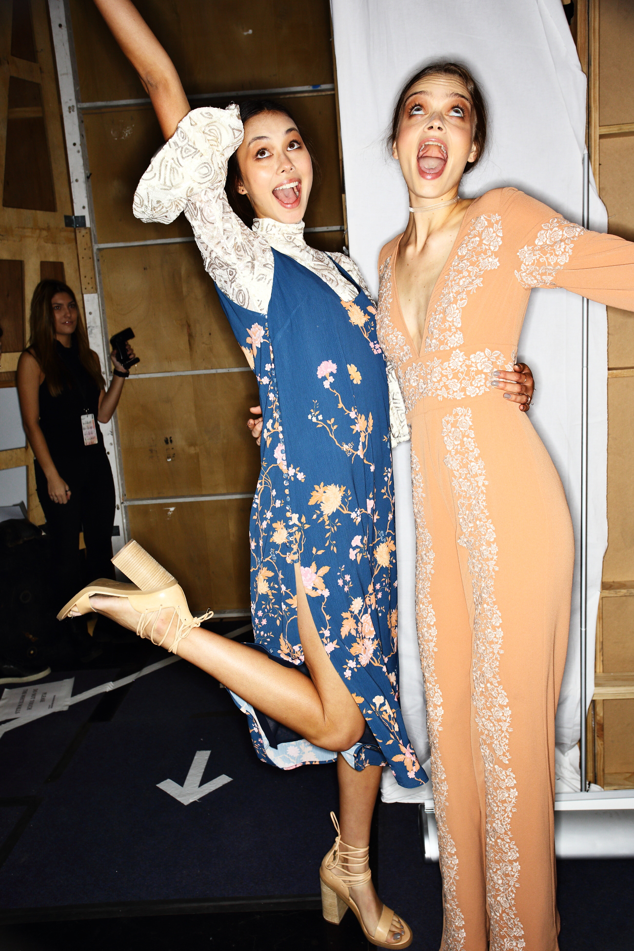 We Are Kindred SS1617 Fashion Show Sydney Backstage