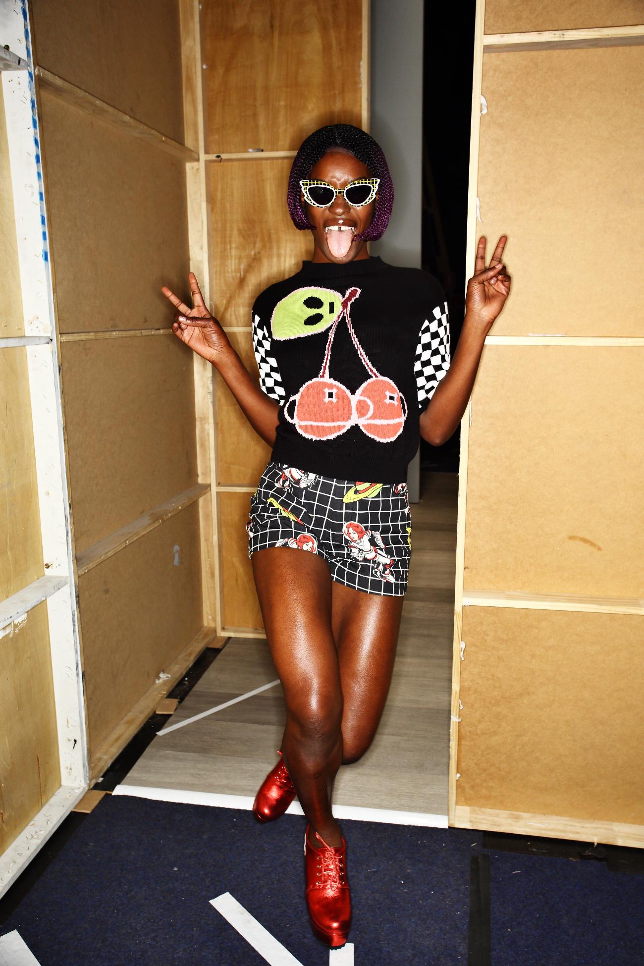 Emma Mulholland SS1617 Fashion Show Sydney Backstage