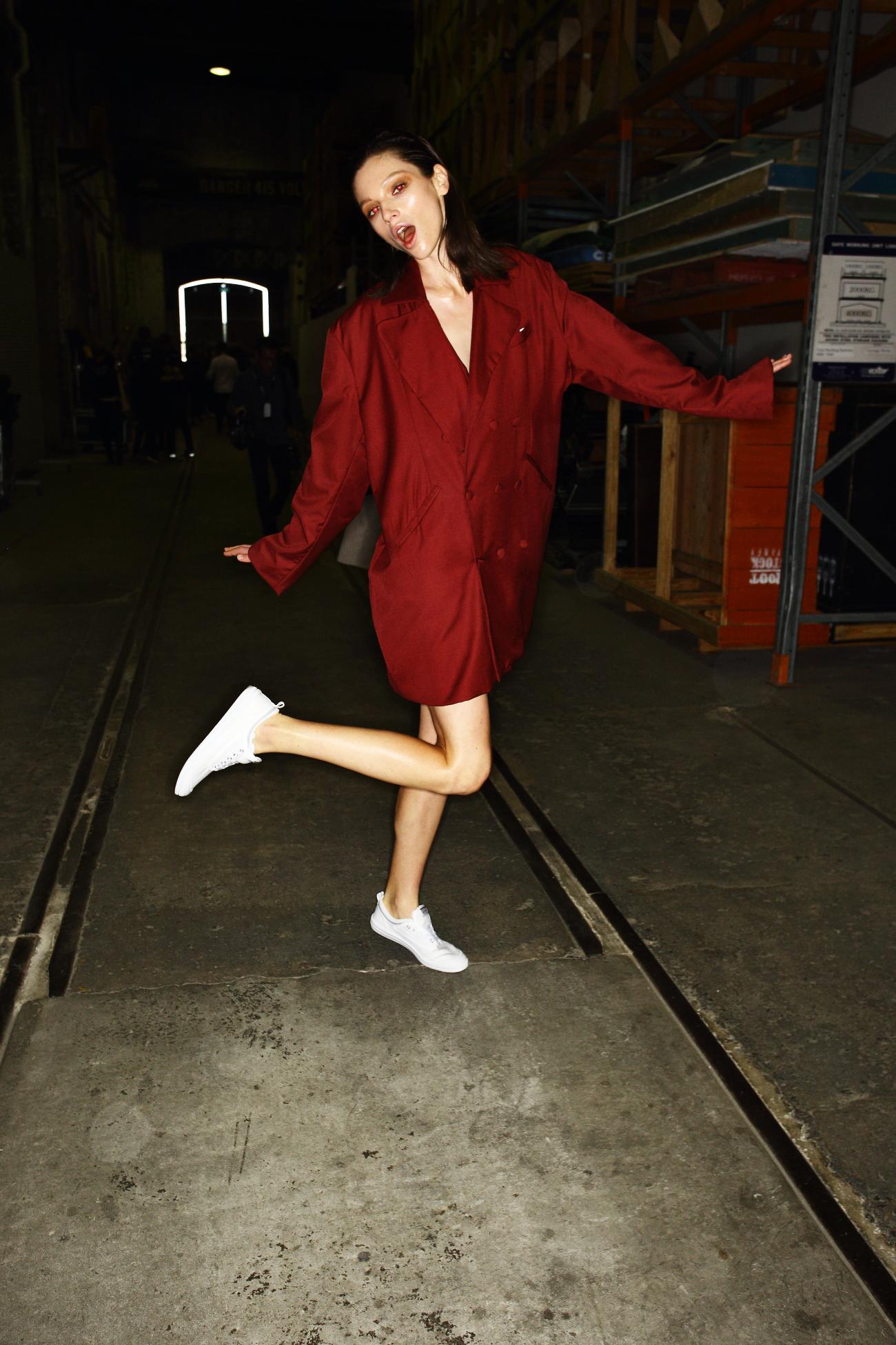 Han SS1617 Fashion Week Sydney Backstage