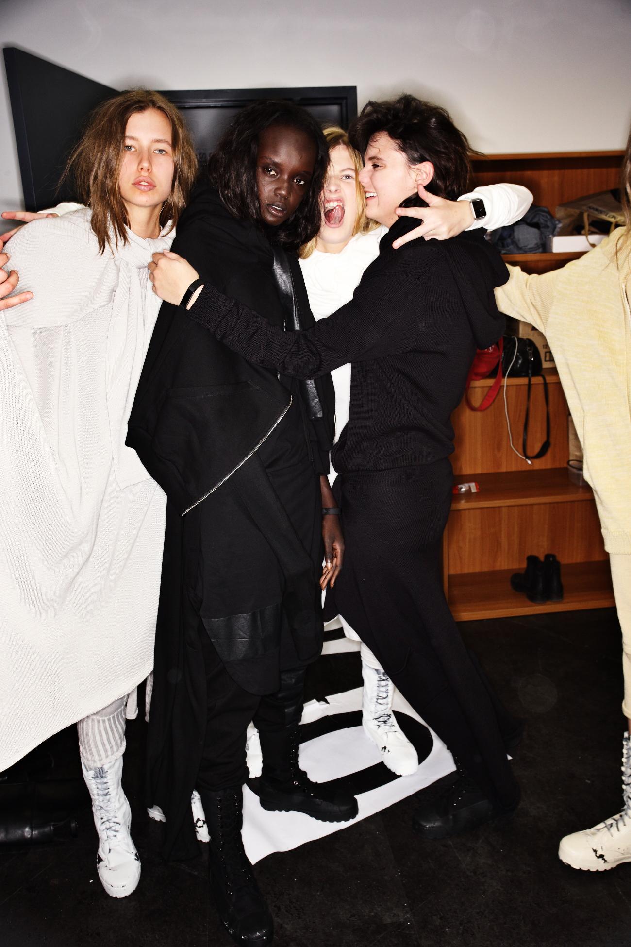 Ten Pieces SS1617 Fashion Show Sydney Backstage