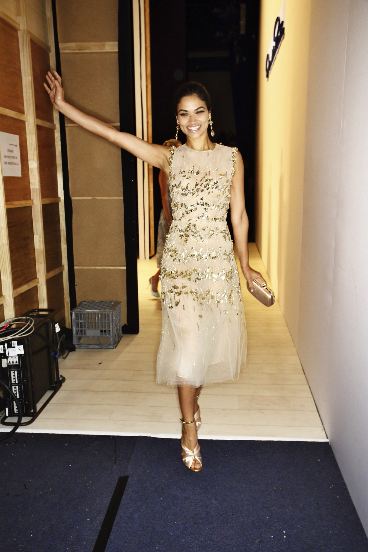 Oscar De La Renta SS1617 Fashion Show Sydney Backstage