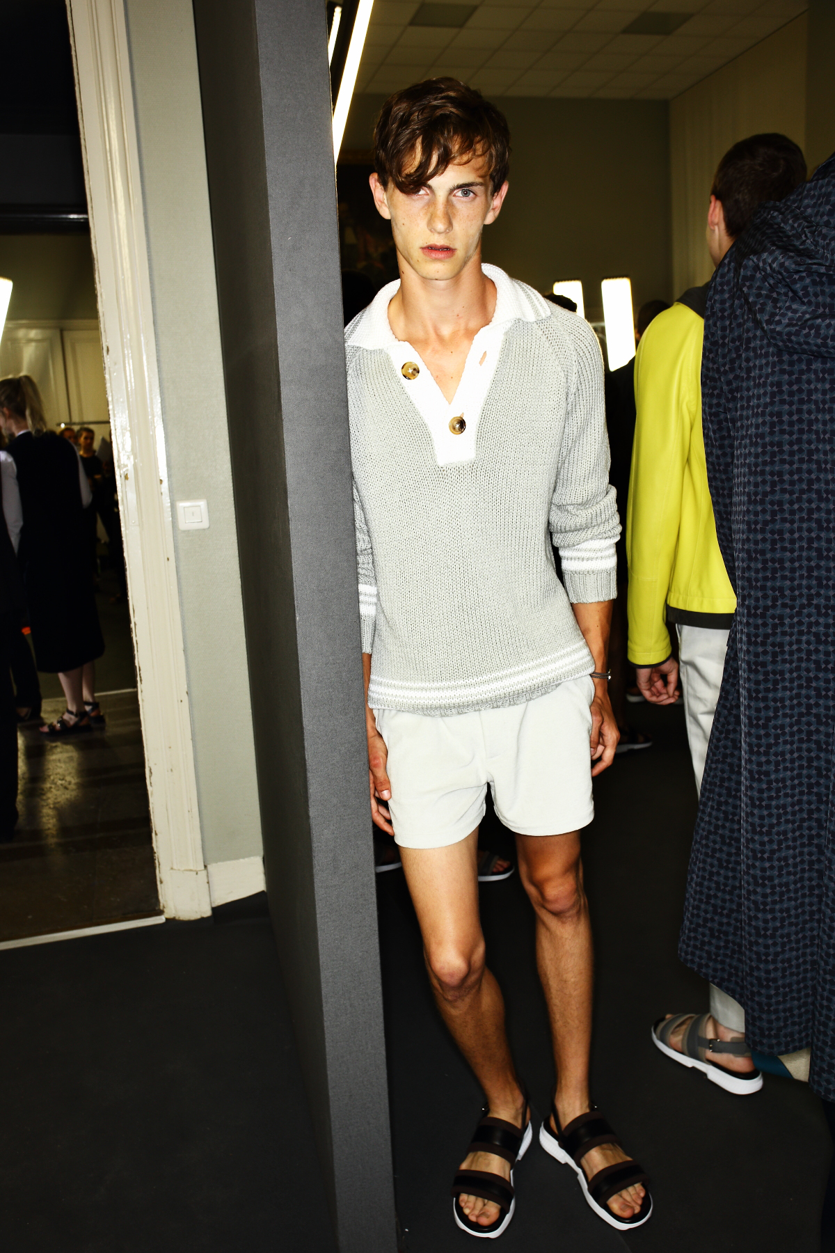 Hermes SS17 Men Fashion Show Paris Backstage