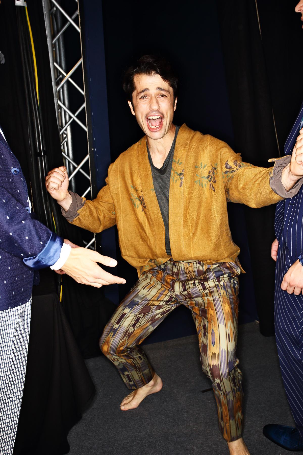 Etro SS17 Men Fashion Show Milan Backstage