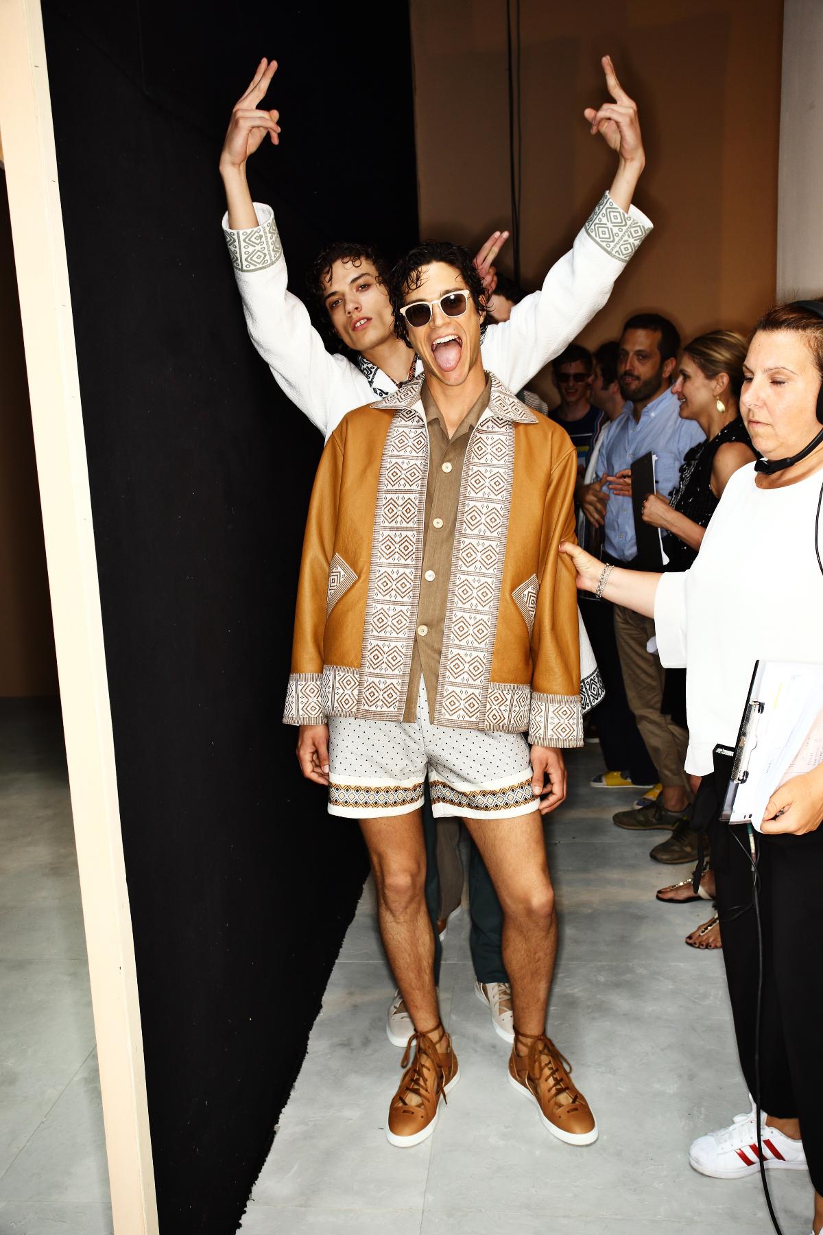 Fendi SS17 Men Fashion Show Milan Backstage