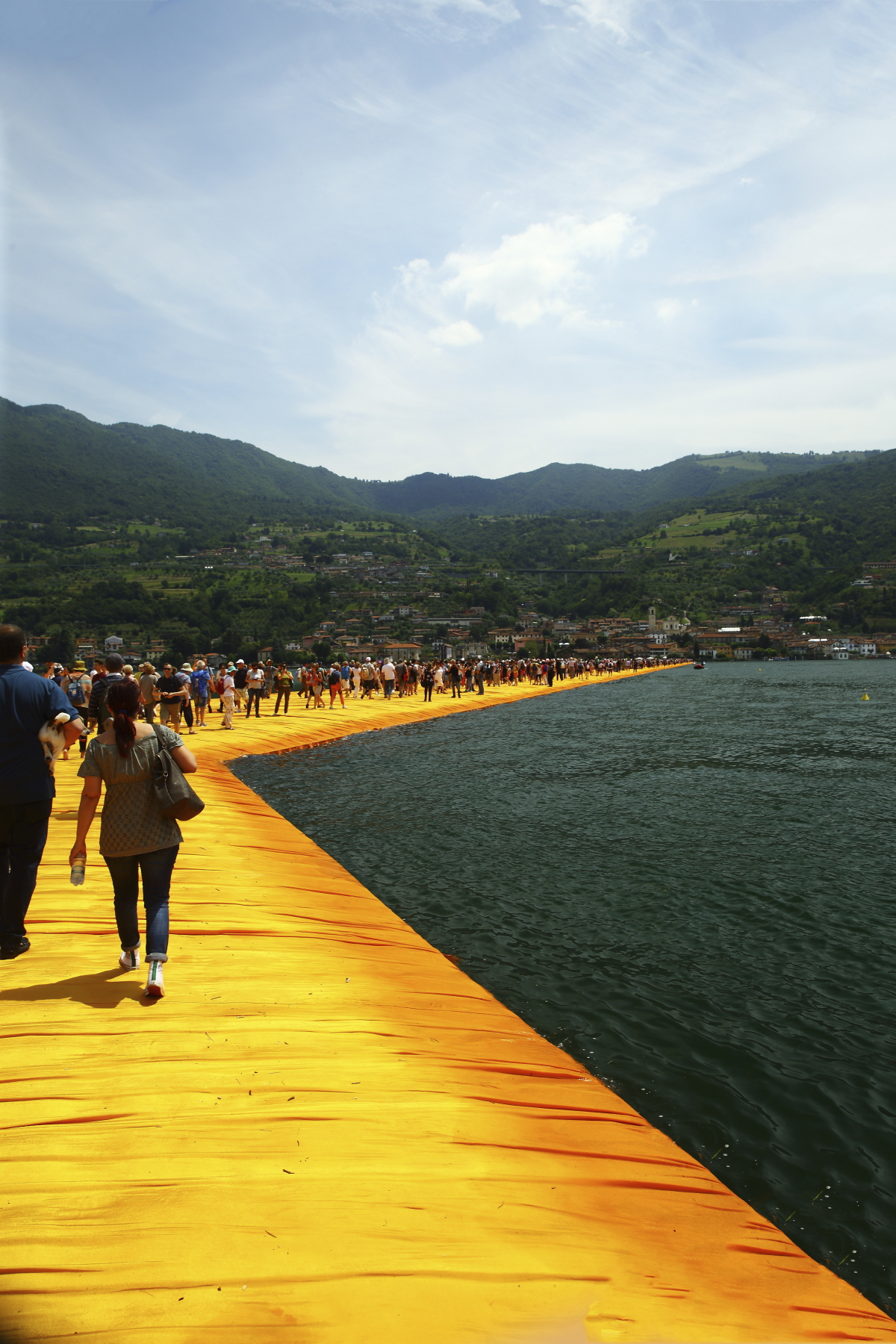 Christo Piers Project at Lake Isseo