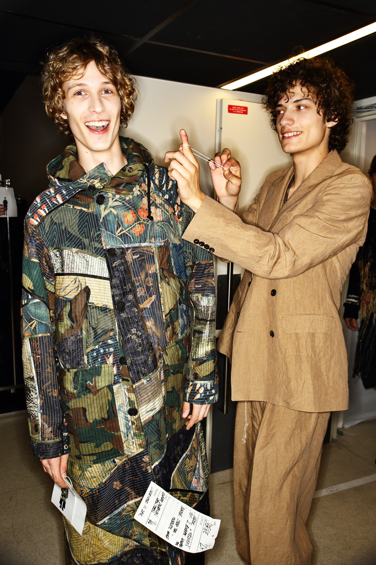 Dries Van Noten SS17 Men Fashion Show Paris Backstage