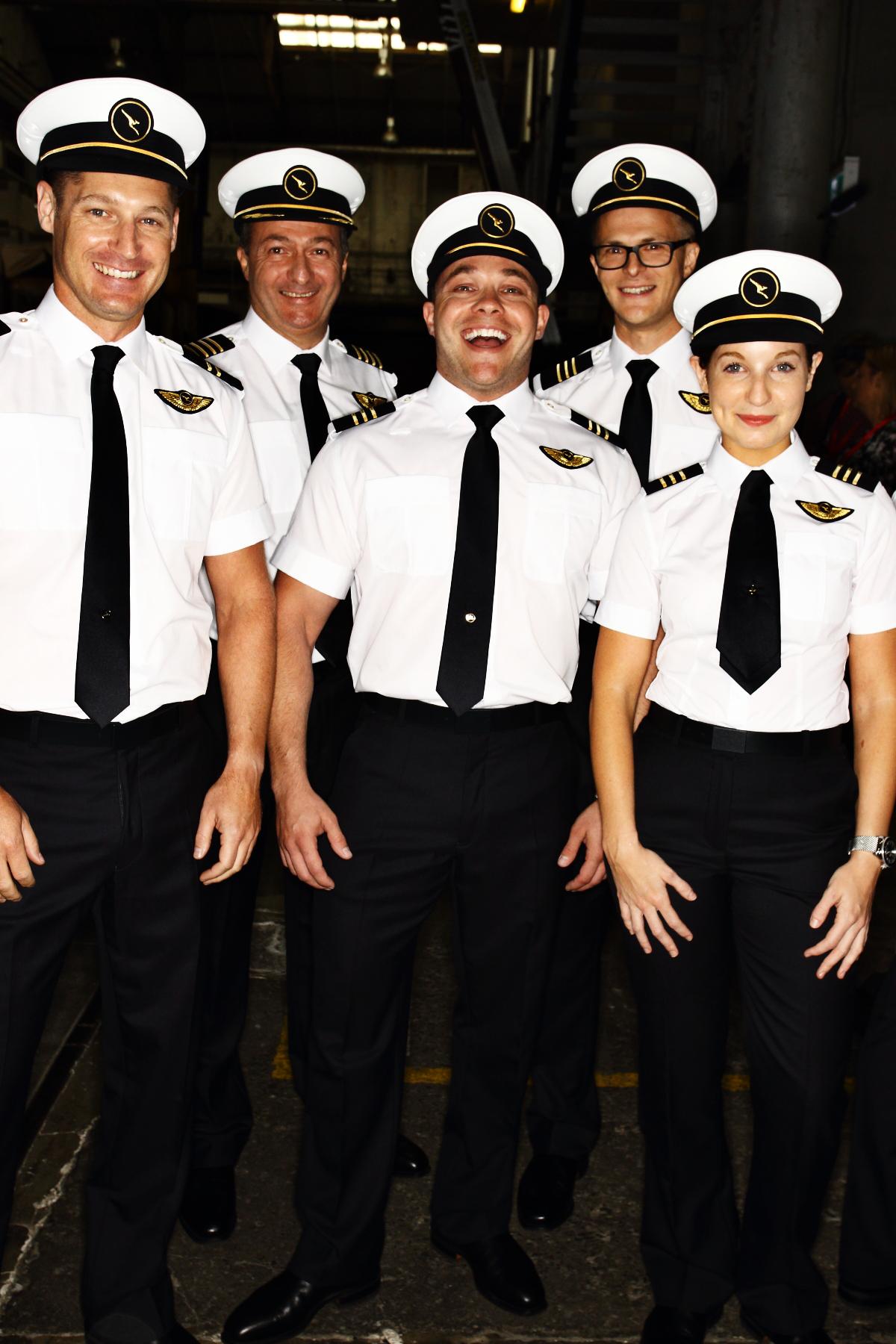 Sonny Vandevelde - Qantas Pilot Uniform Launch - Pre show