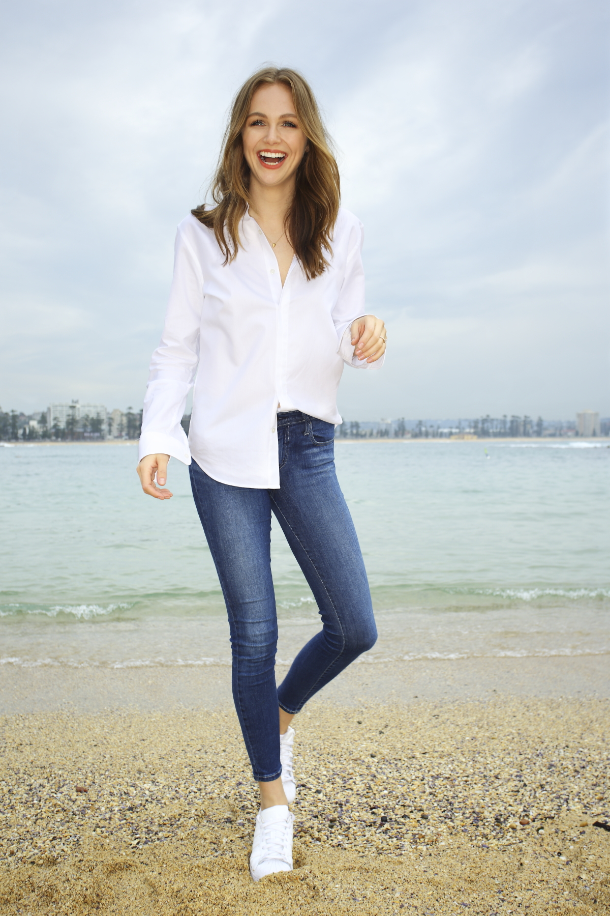 White Shirt Campaign with Ksenija Lukich