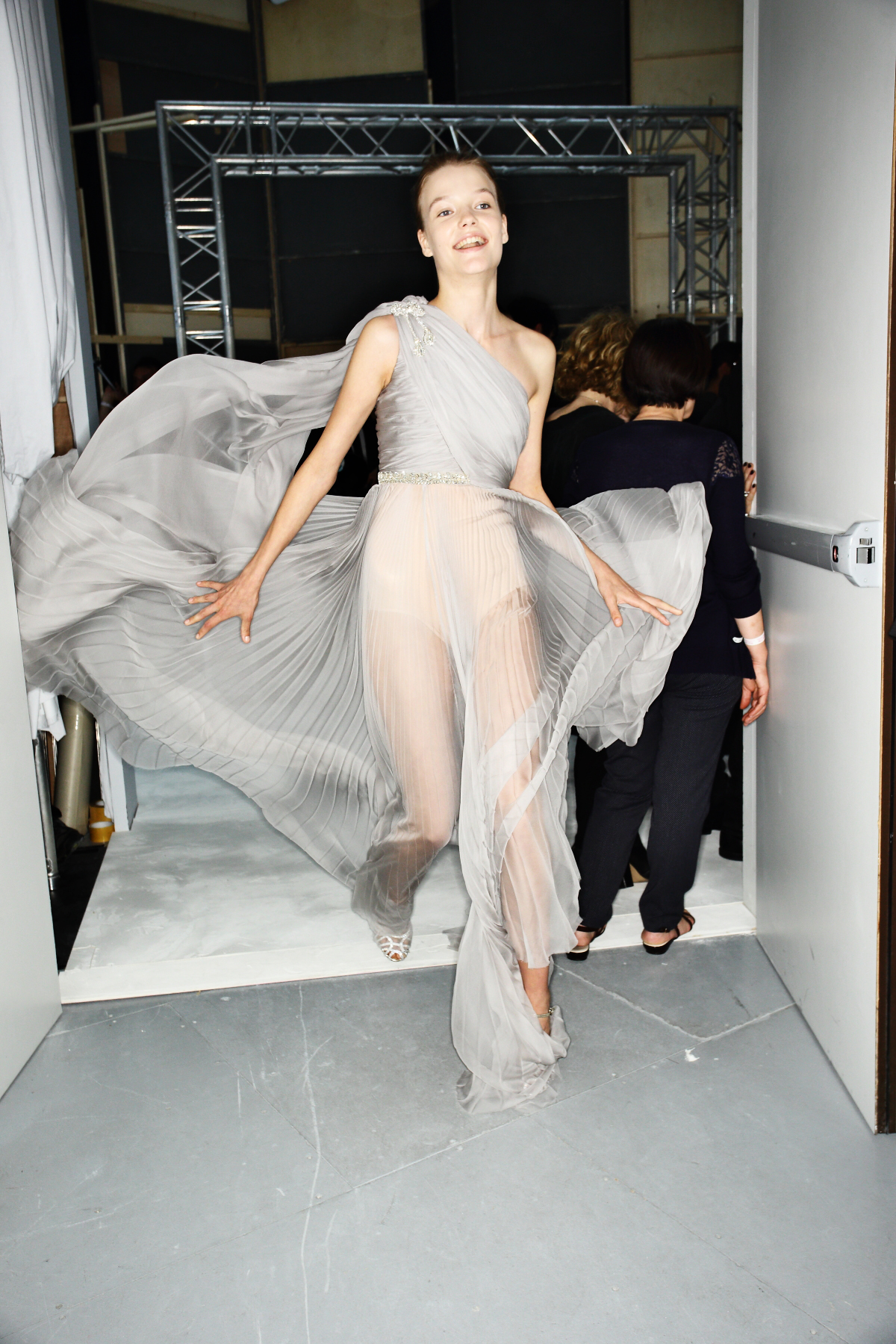 Giambattista Valli Fall 16 Haute Couture Show Paris Backstage