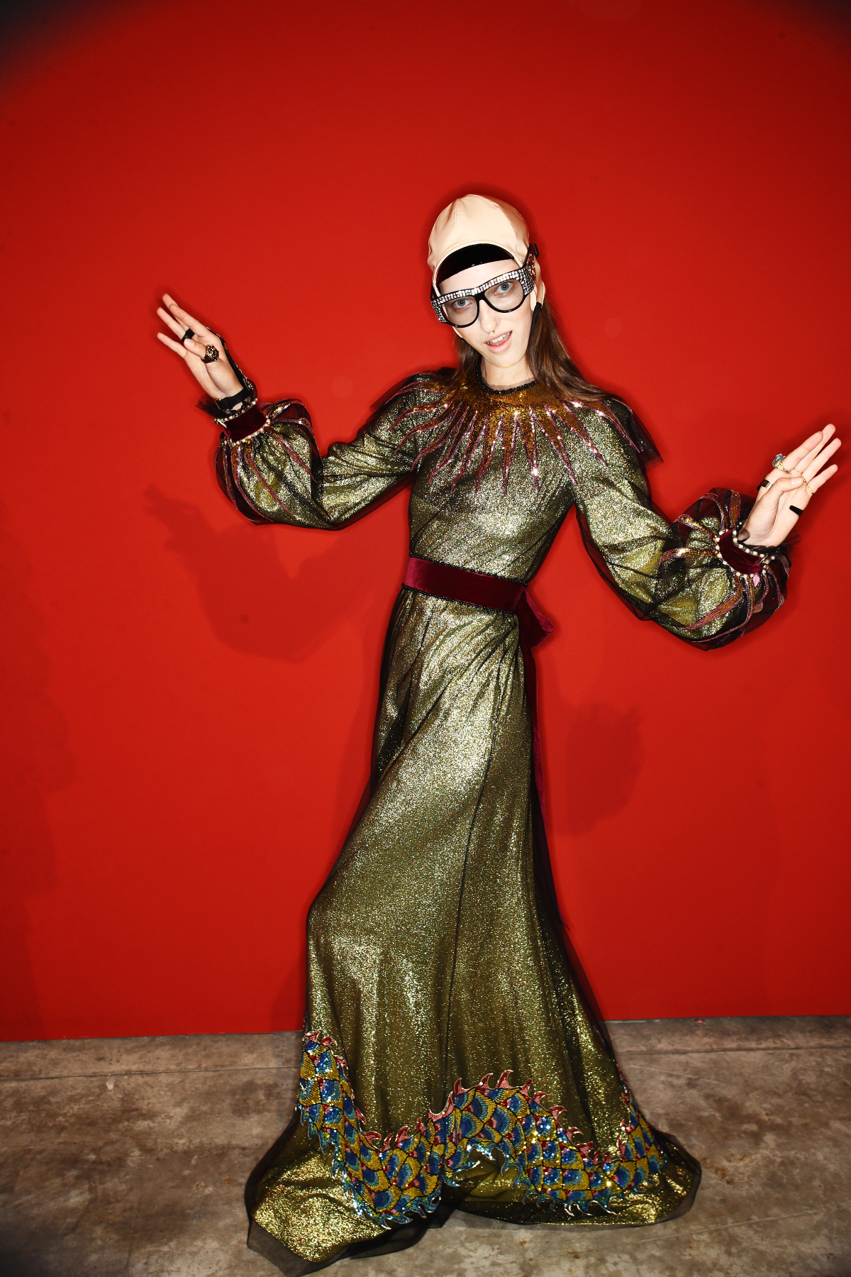 Gucci SS17 Fashion Show Milan Backstage