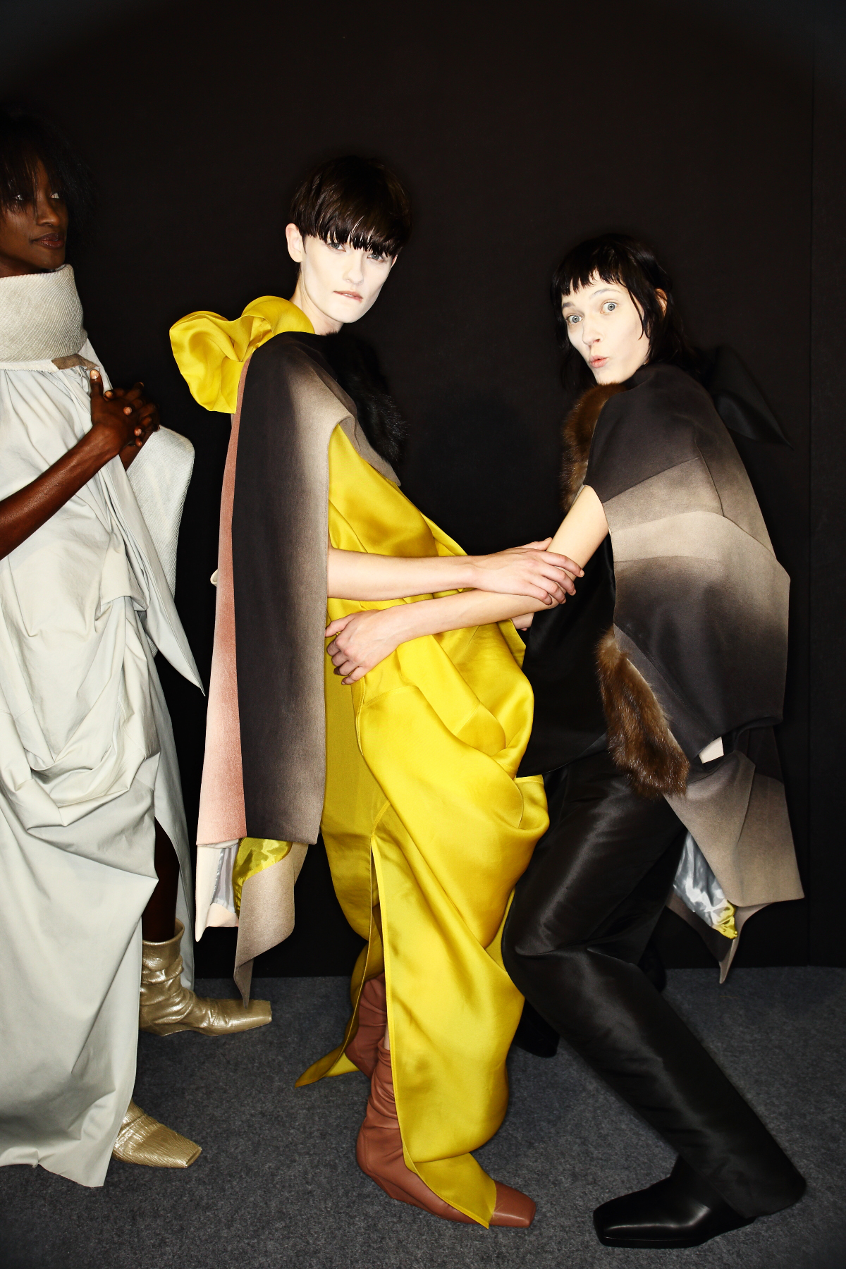 Rick Owens SS17 Fashion Show Paris Backstage