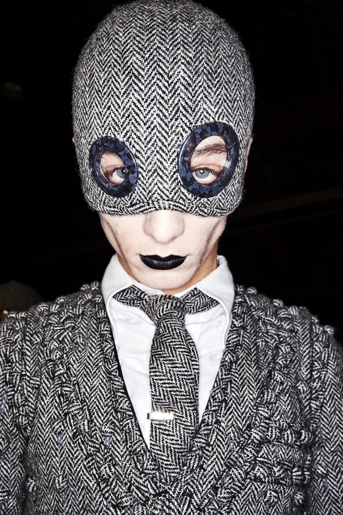 Thom Browne Fall 17 Men Fashion Show Paris Backstage
