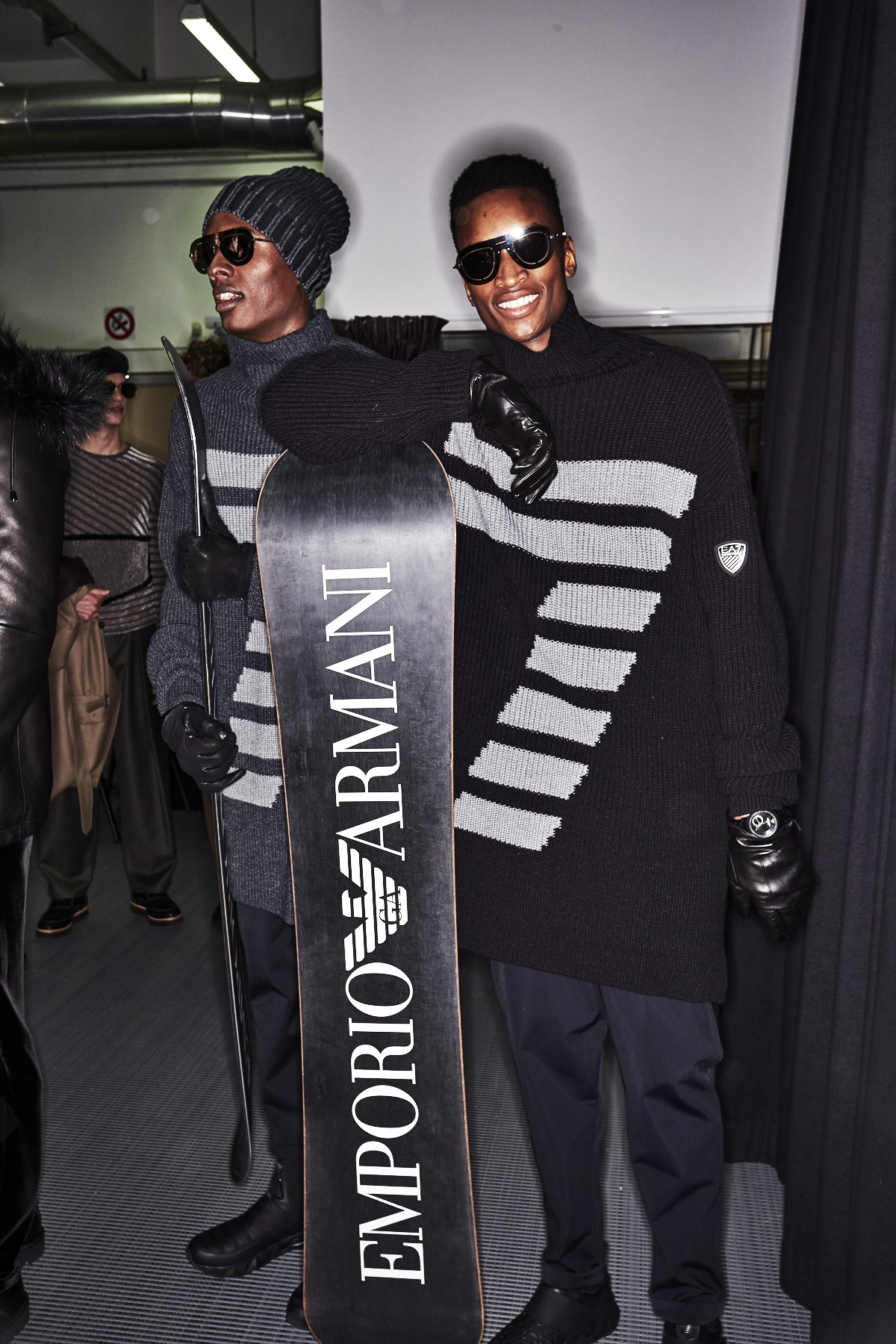 Emporio Armani Fall 17 Men Fashion Show Milan Backstage