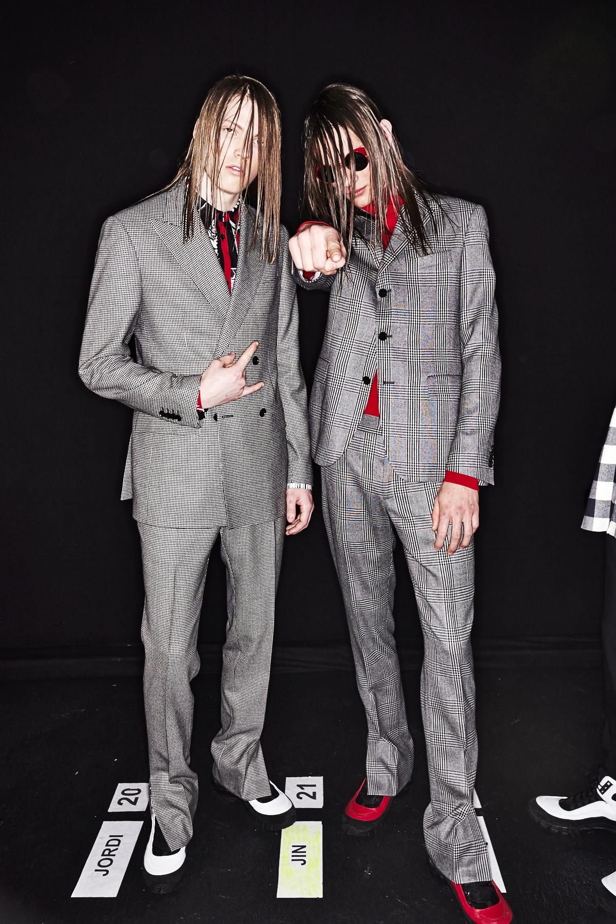 Versace Fall 17 Men Fashion Show Milan Backstage