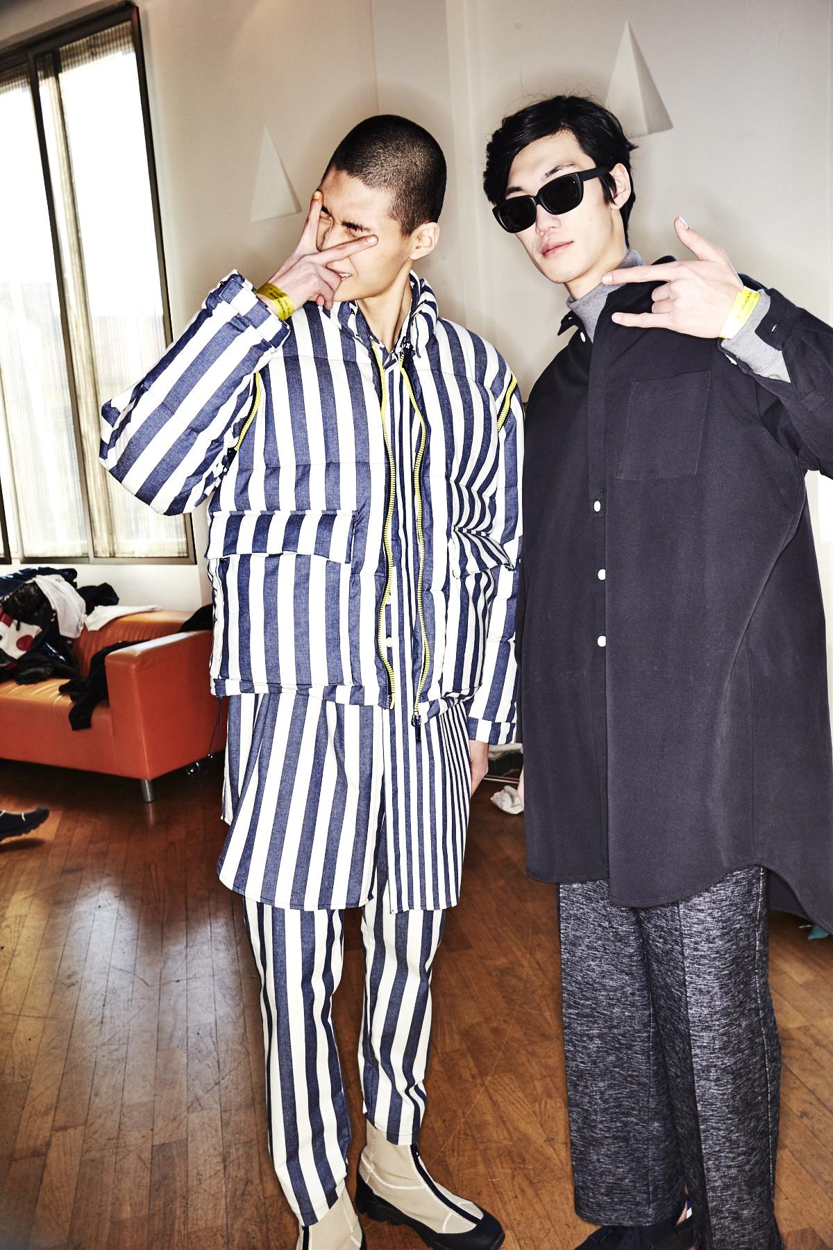Sunnei Fall17 Men Fashion Milan Backstage