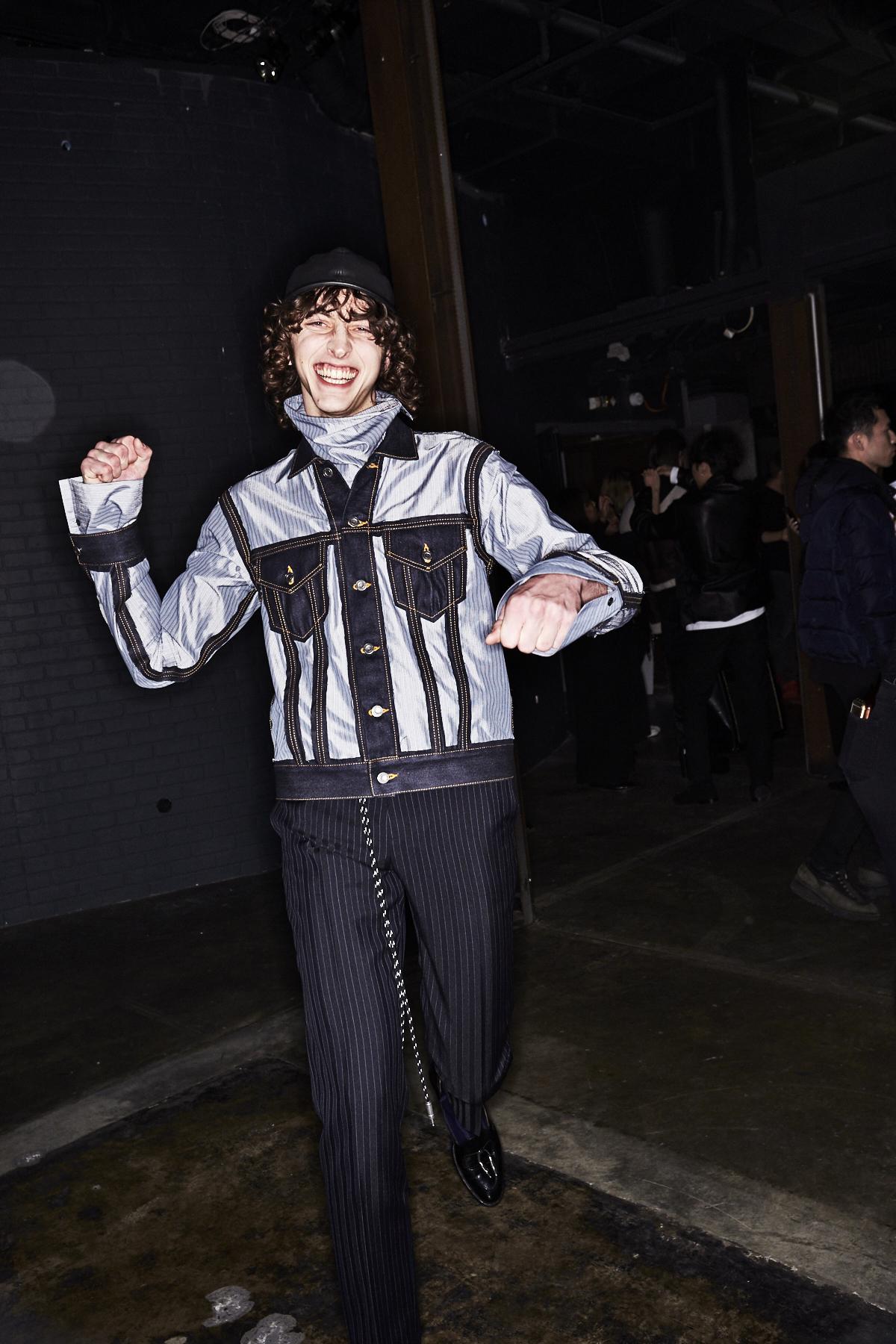 Christian Dada Fall 17 Men Fashion Show Paris Backstage