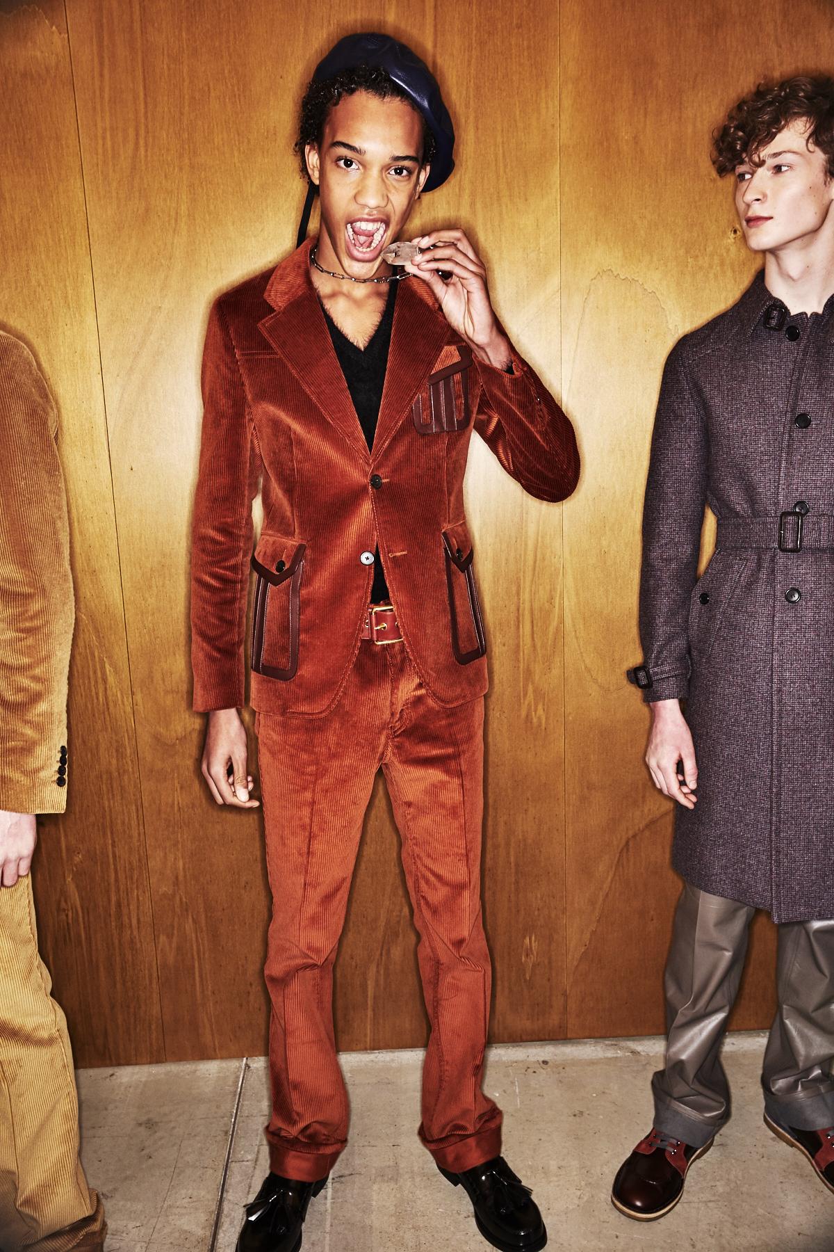 Prada Fall 17 Men Fashion Show Milan Backstage