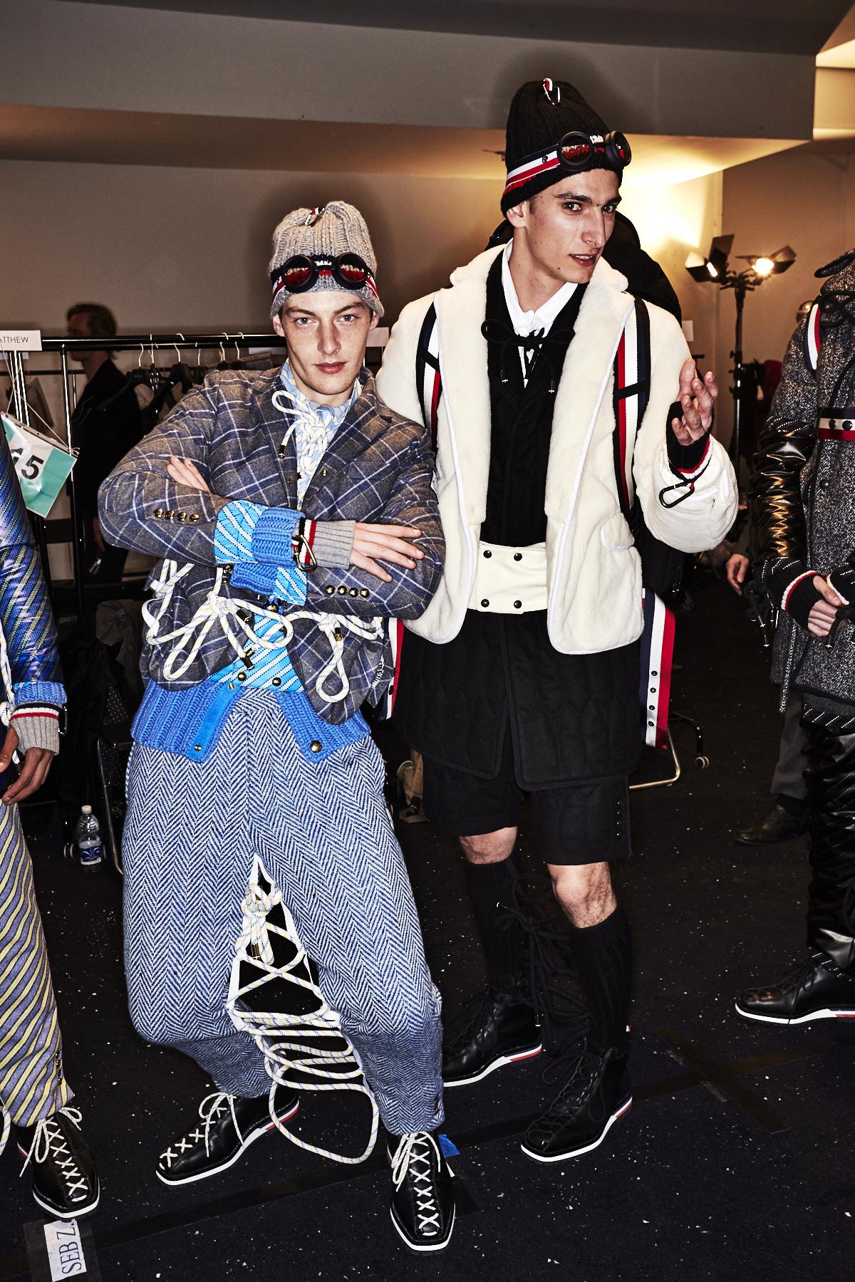 Moncler Fall 17 Men Fashion Show Milan Backstage