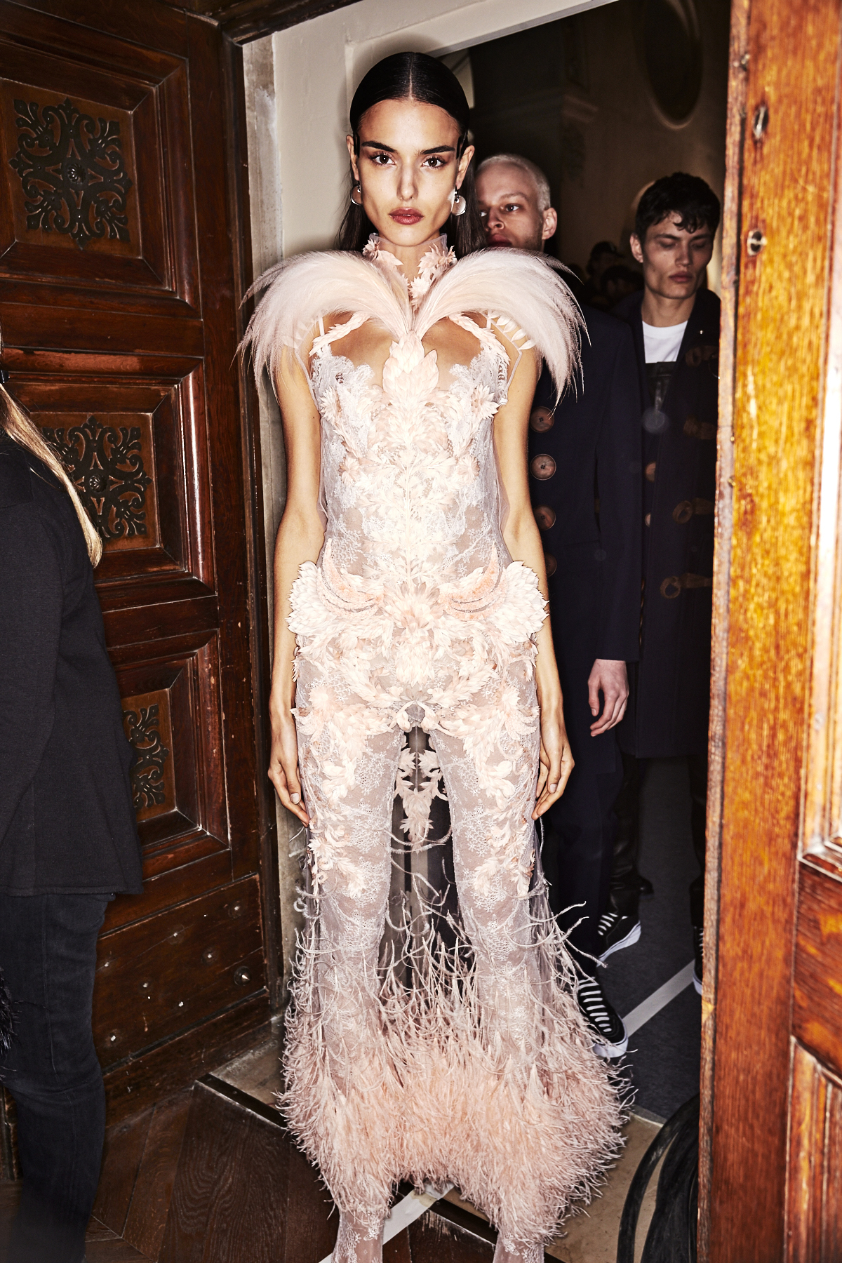 Givenchy SS17 Haute Couture Show Paris Backstage