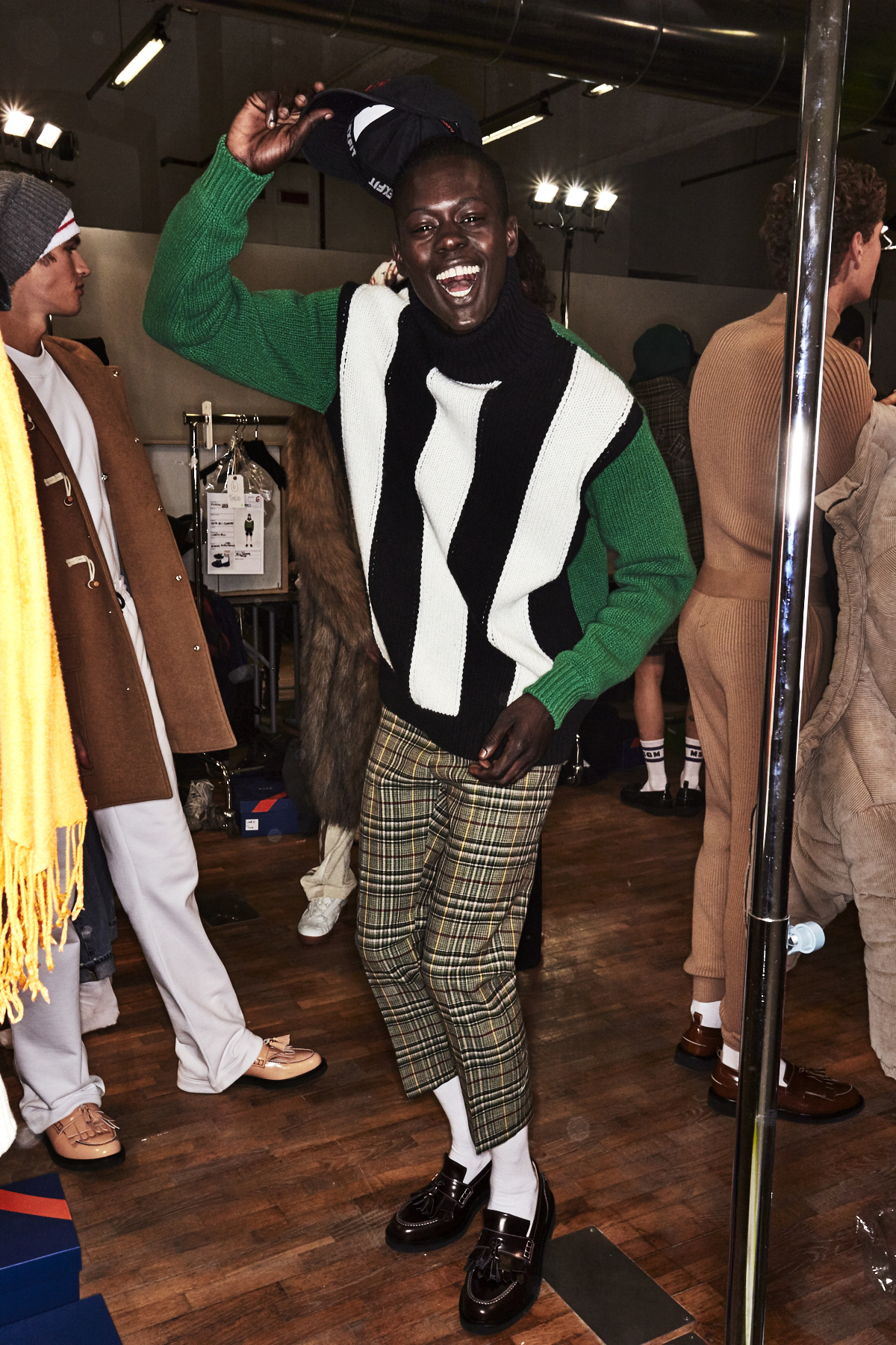 MSGM Fall 17 Men Fashion Show Milan Backstage