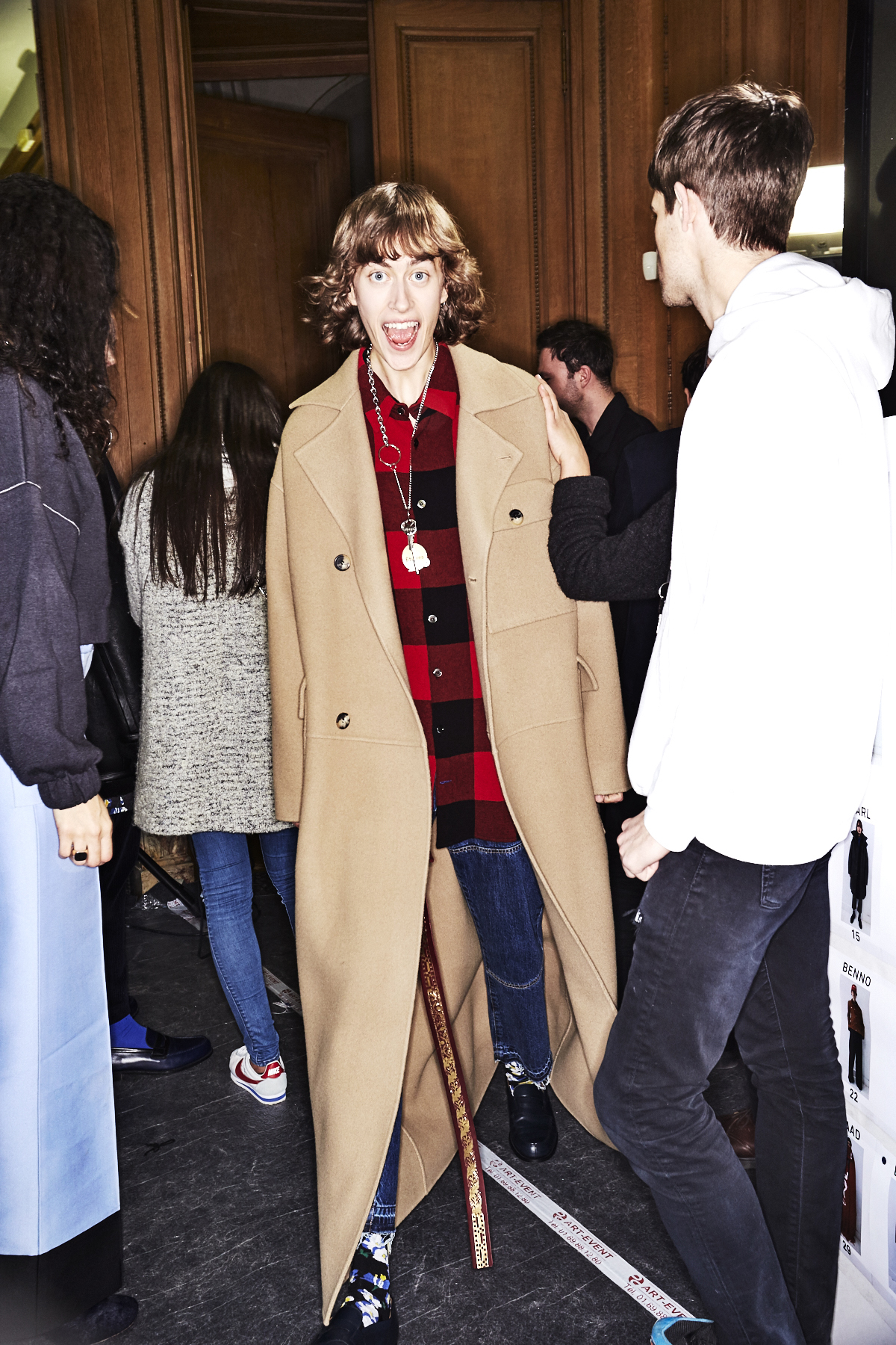 Etudes Fall 17 Men Fashion Show Paris Backstage