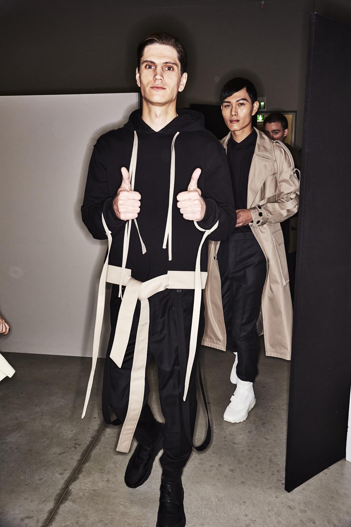 Consistence Fall 17 Men Fashion Show Milan Backstage