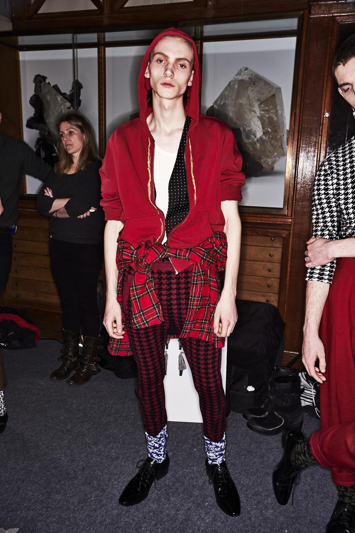 Haider Ackermann Fall 17 Men Fashion Show Paris Backstage
