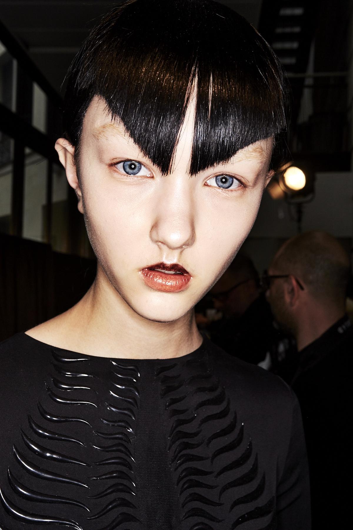 Iris Van Herpen SS17 Haute Couture Show Paris Backstage