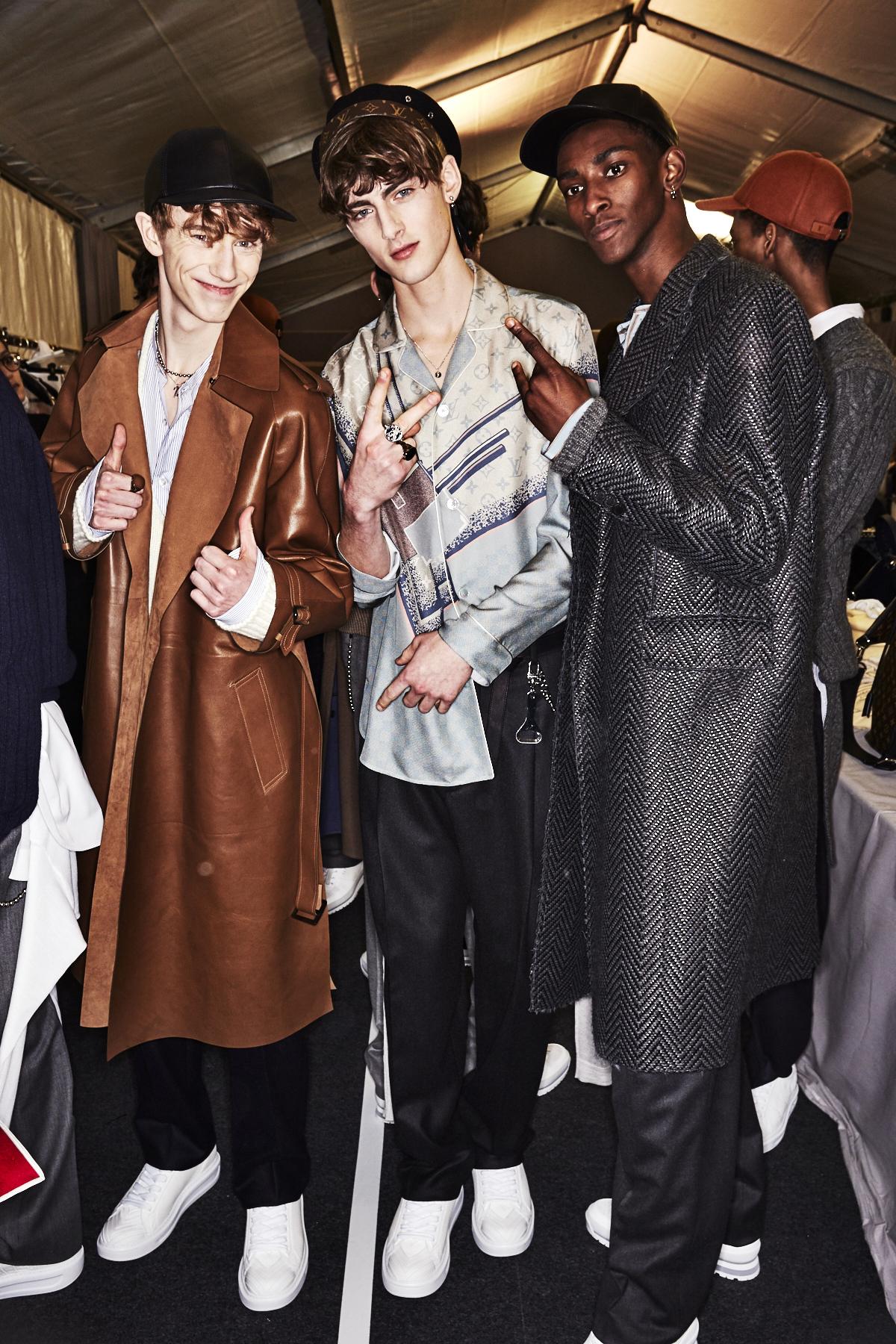 Louis Vuitton Fall 17 Men Fashion Show Paris Backtage