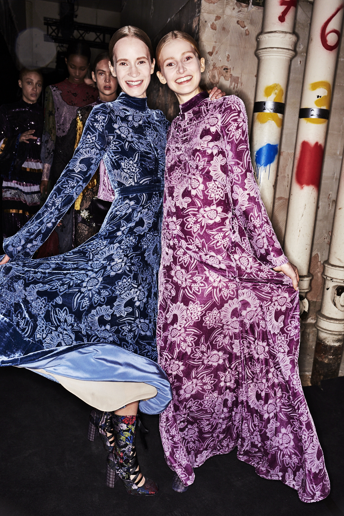 Erdem AW1718 Fashion Show London Backstage