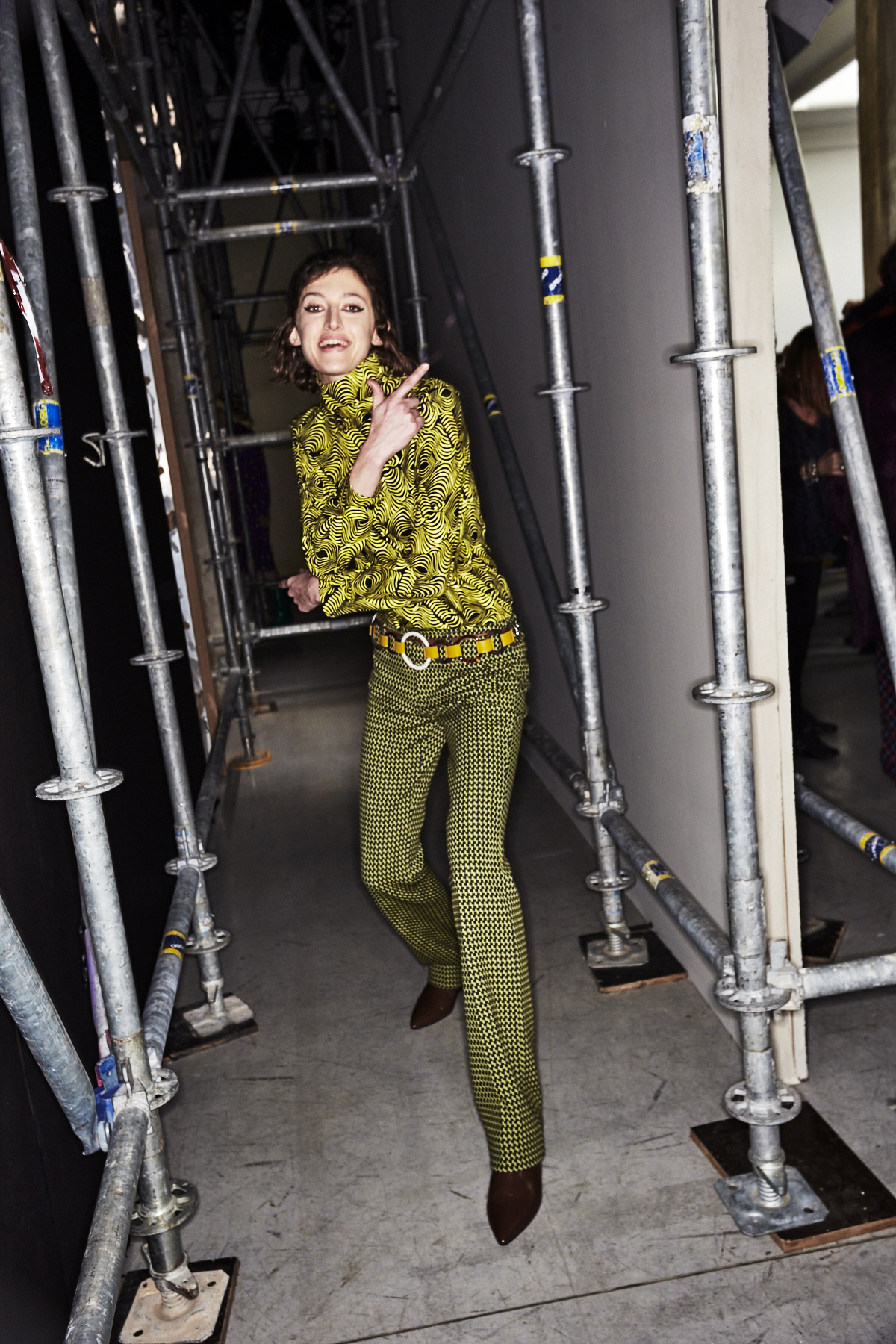 Marni AW1718 Fashion Show Milan Backstage