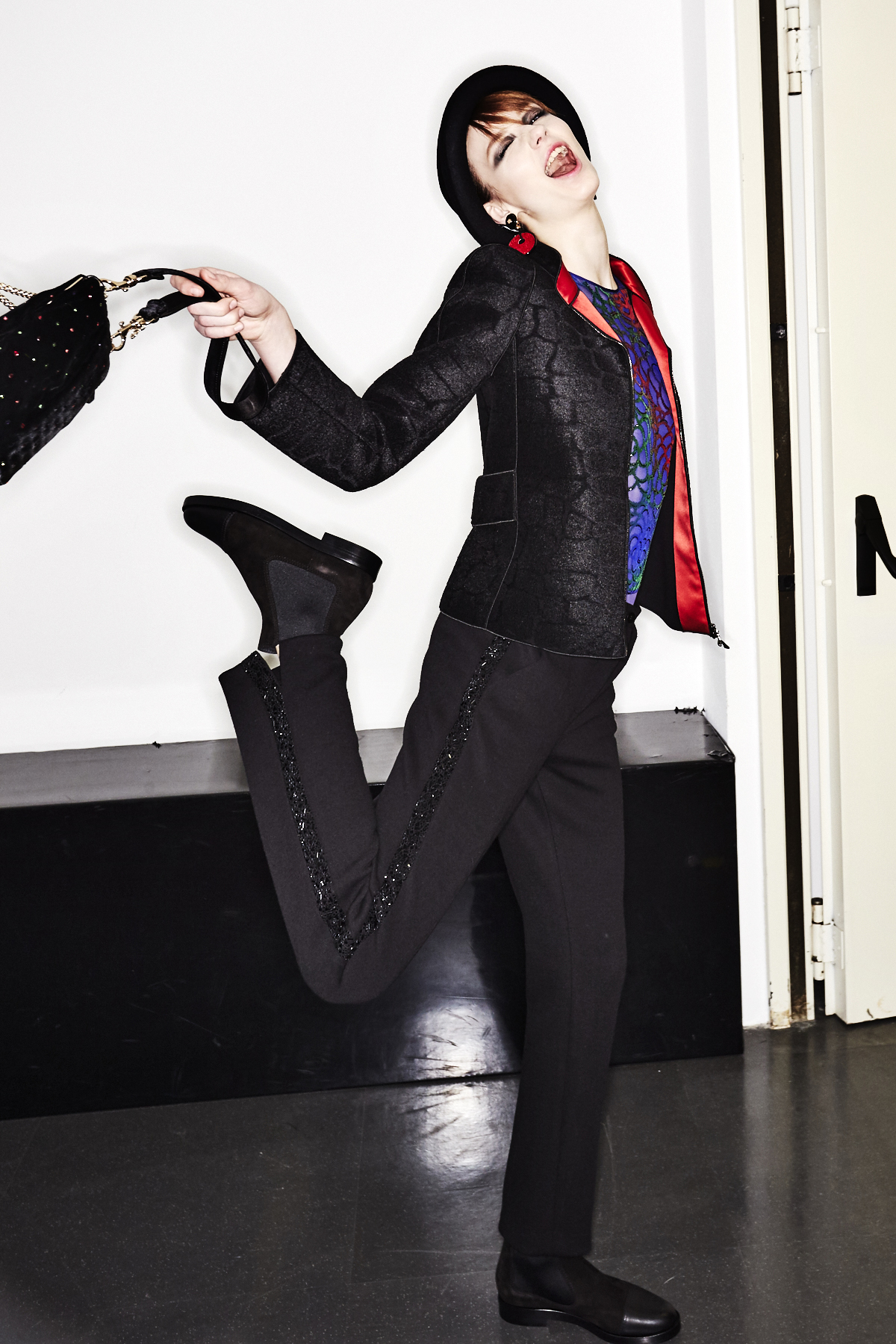 Giorgio Armani AW1718 Fashion Show Milan Backstage