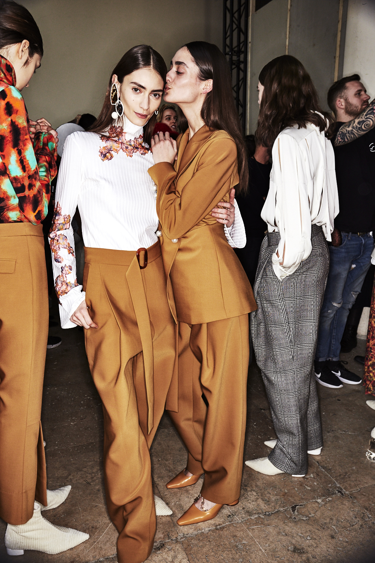 Ellery AW1718 Fashion Show Paris Backstage