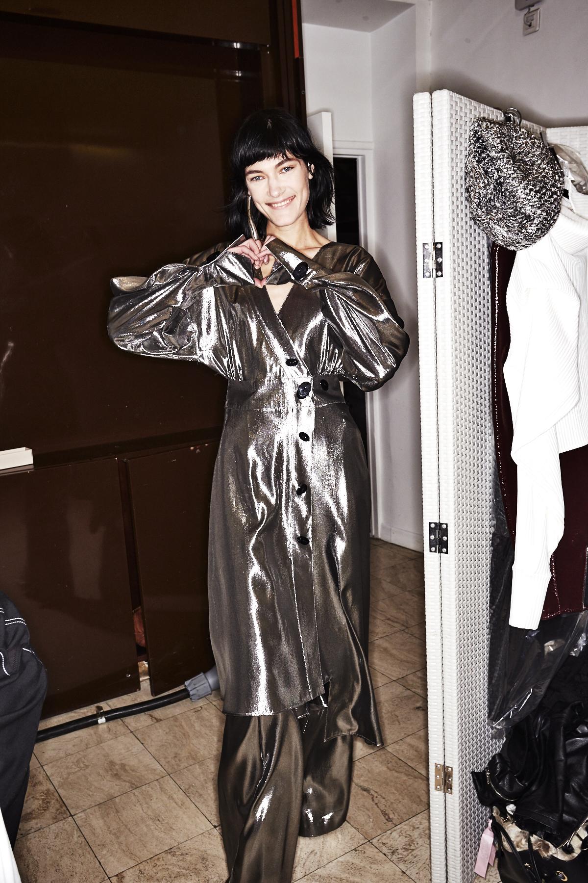 Wanda Nylon AW1718 Fashion Show Paris Backstage