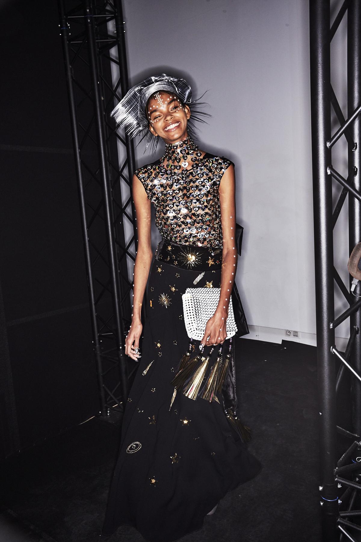 Manish Arora AW1718 Fashion Show Paris Backstage