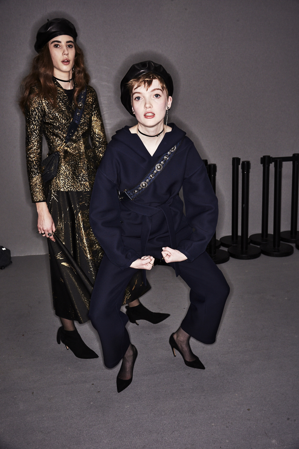 Christian Dior AW1718 Fashion Show Paris Backstage