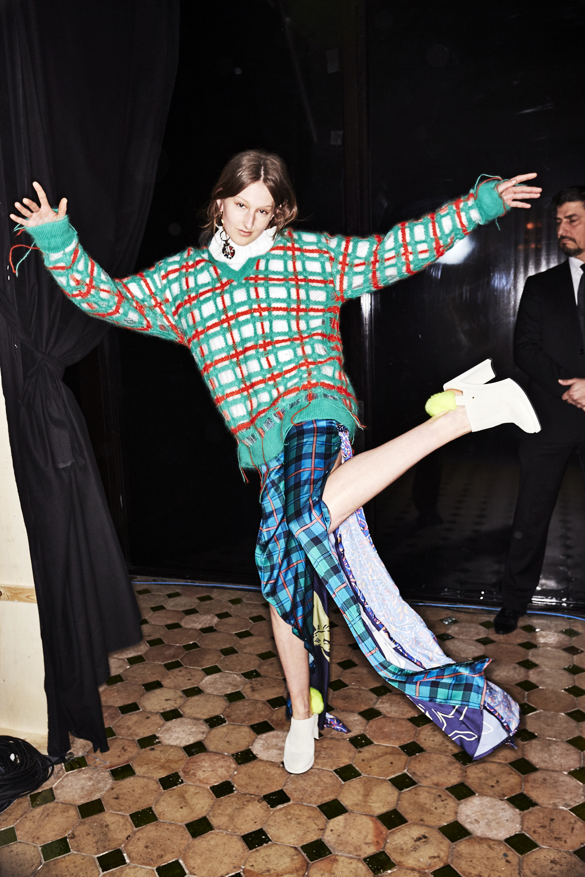 Esteban Cortazar AW1718 Fashion Show Paris Backstage