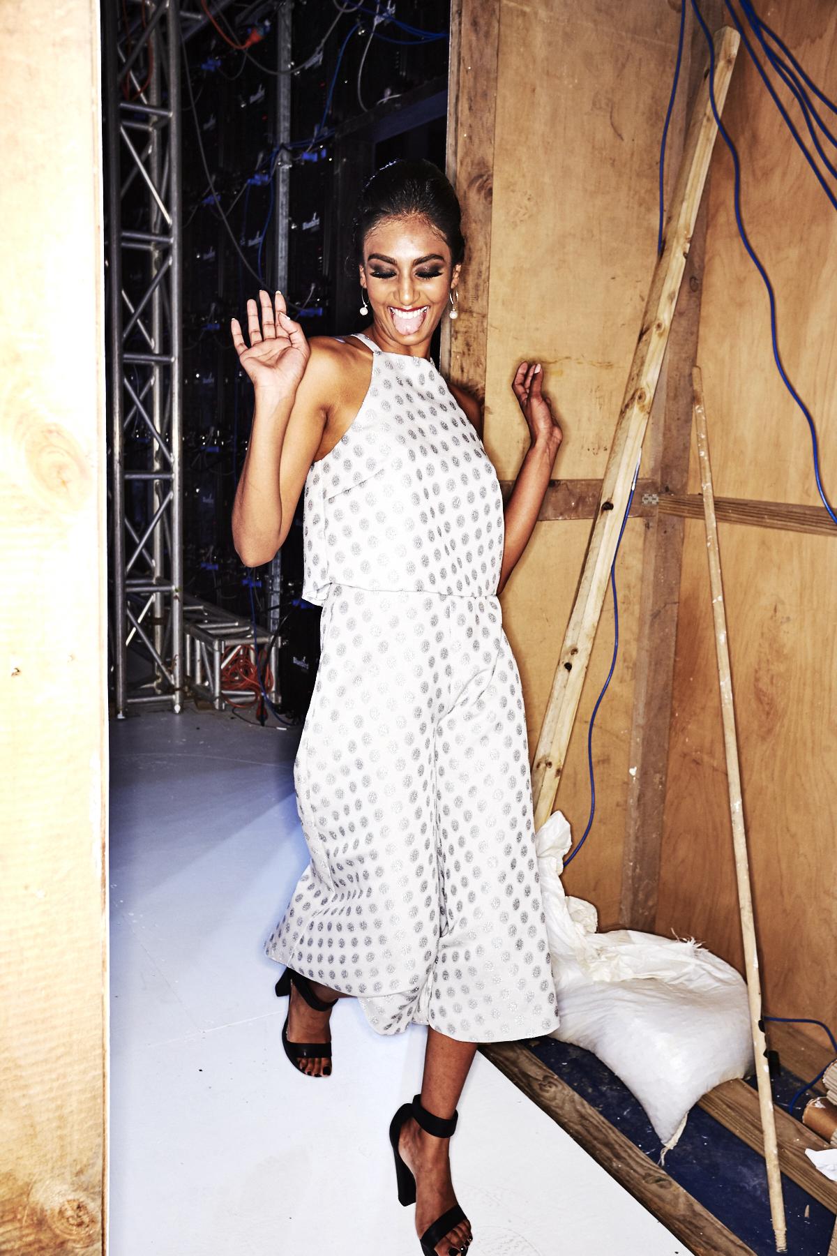 Mohini Gounder SS17 Fiji Fashion Show Suva Backstage
