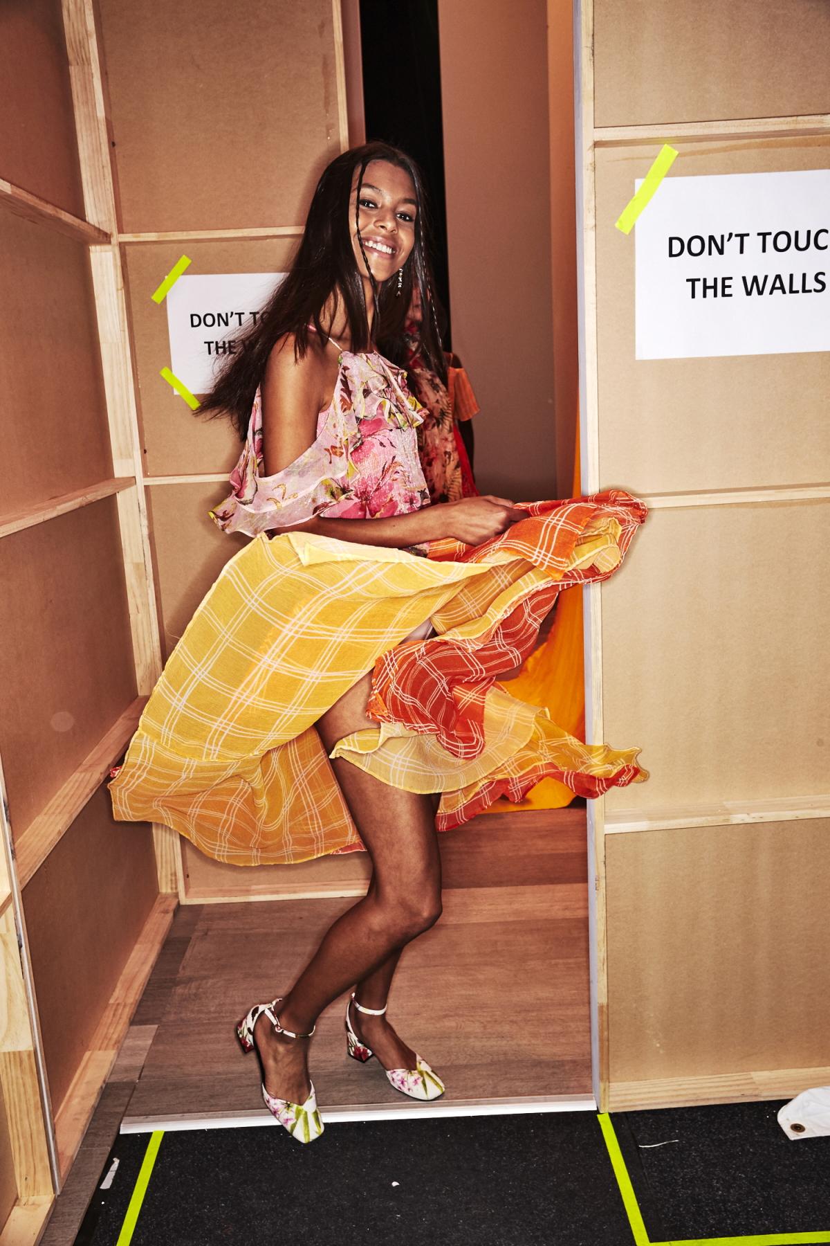 Roopa Pemmaraju Resort 2018 Fashion Show Sydney Backstage