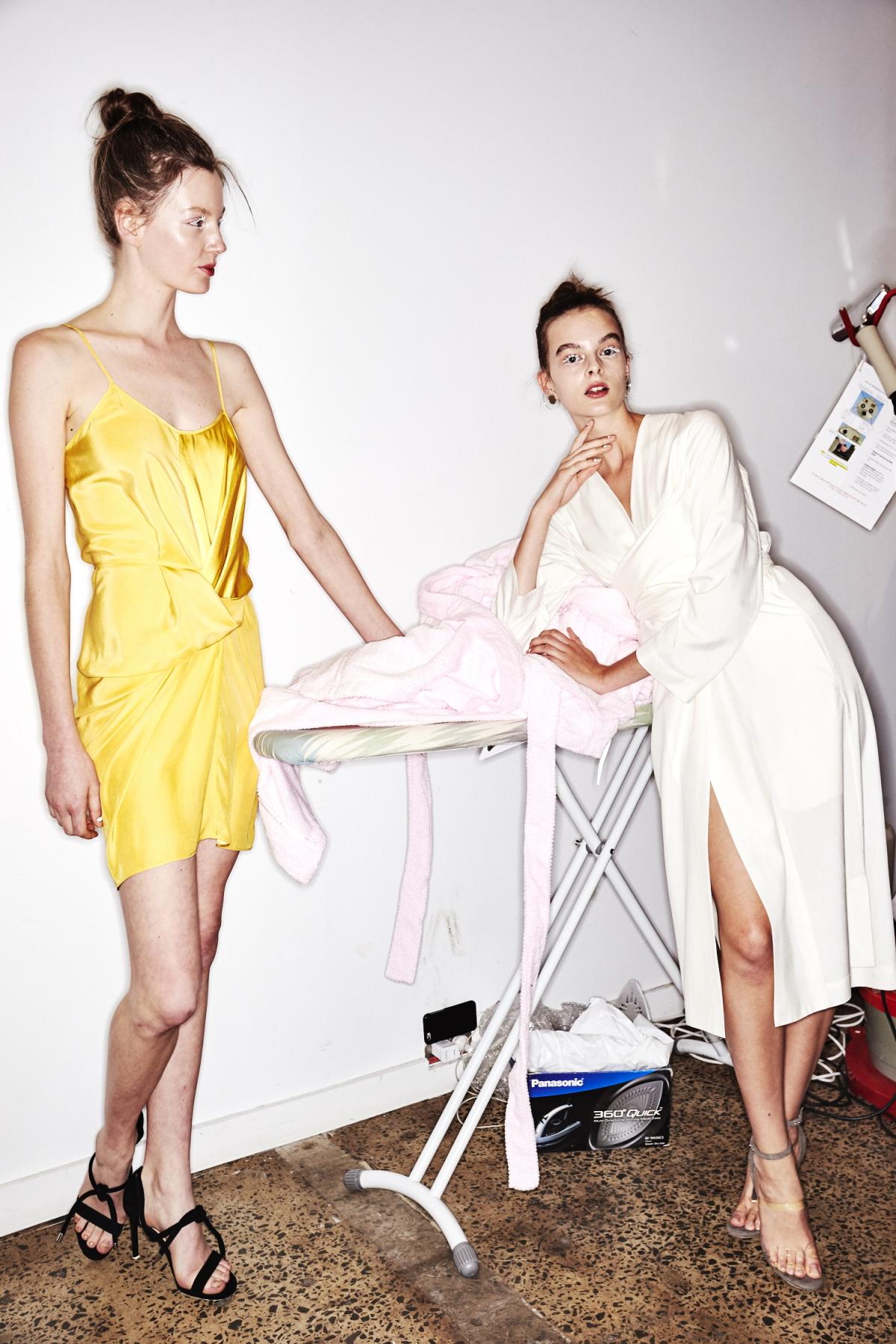 Gary Bigeni Resort 2018 Fashion Show Sydney Backstage