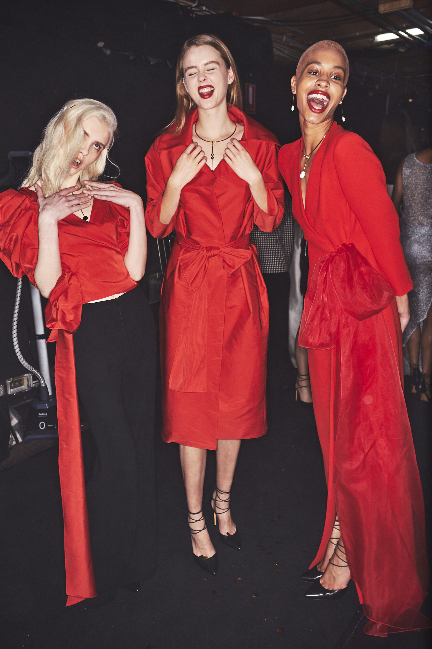 Carla Zampatti SS1718 Fashion Show Sydney Backstage