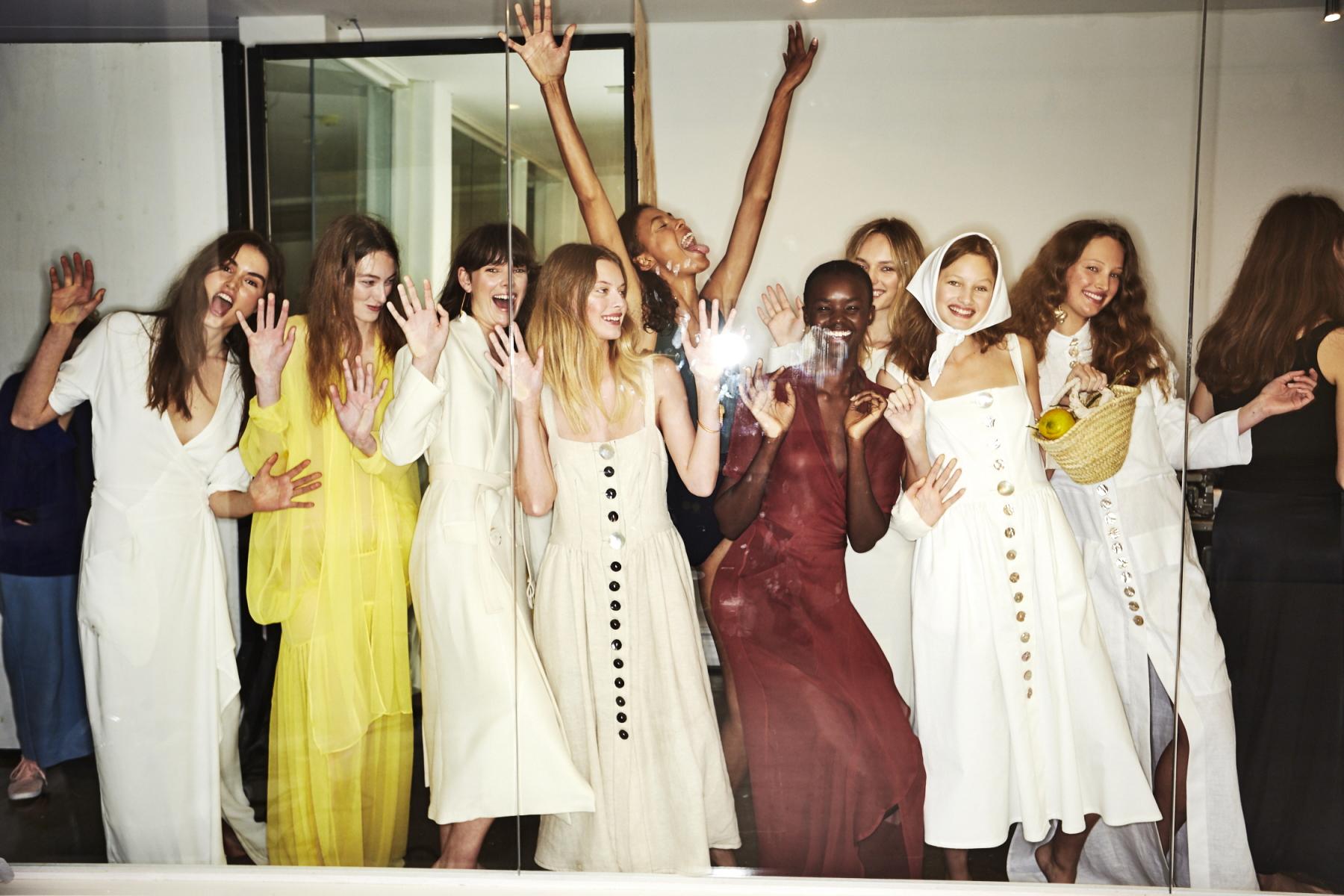Albus Lumen Resort 2018 Fashion Show Sydney Backstage