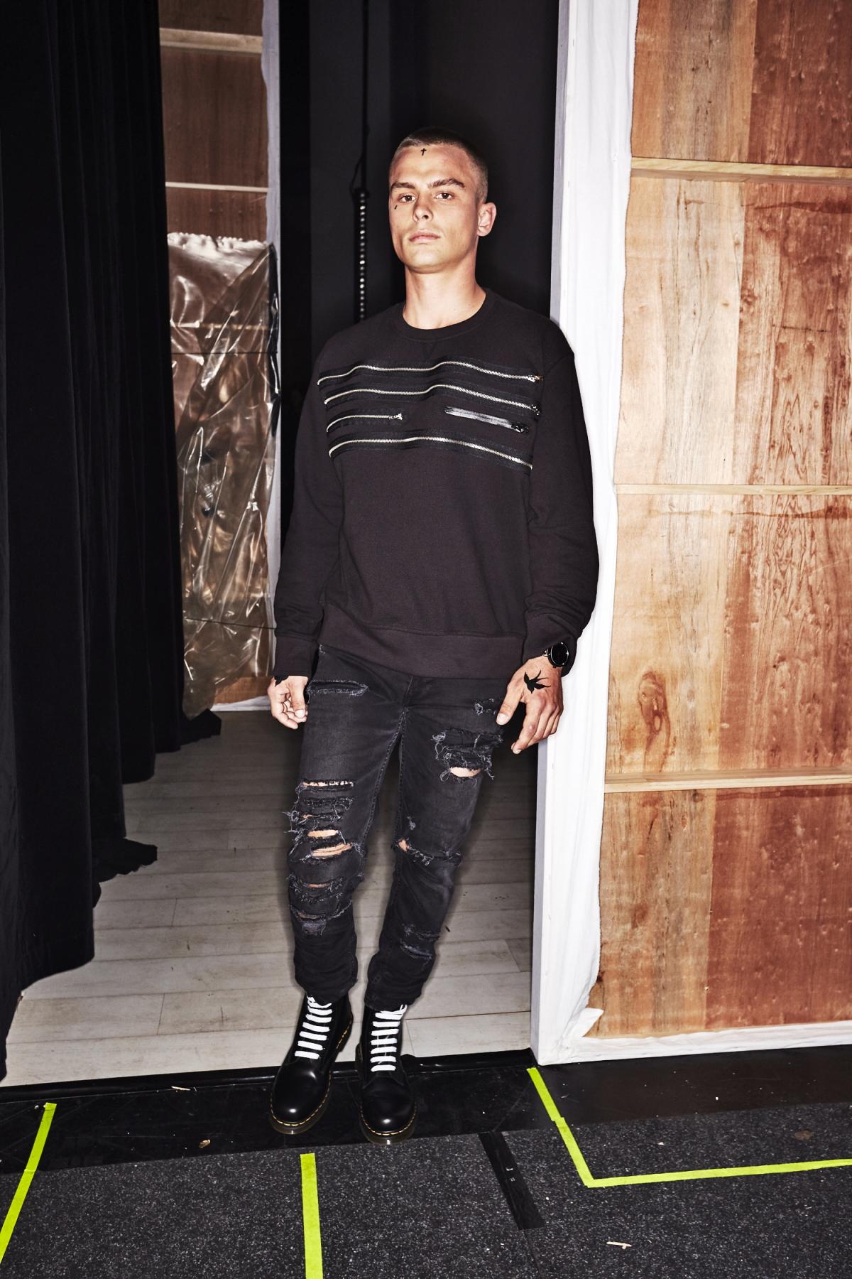 Justin Cassin Resort 2018 Fashion Show Sydney Backstage