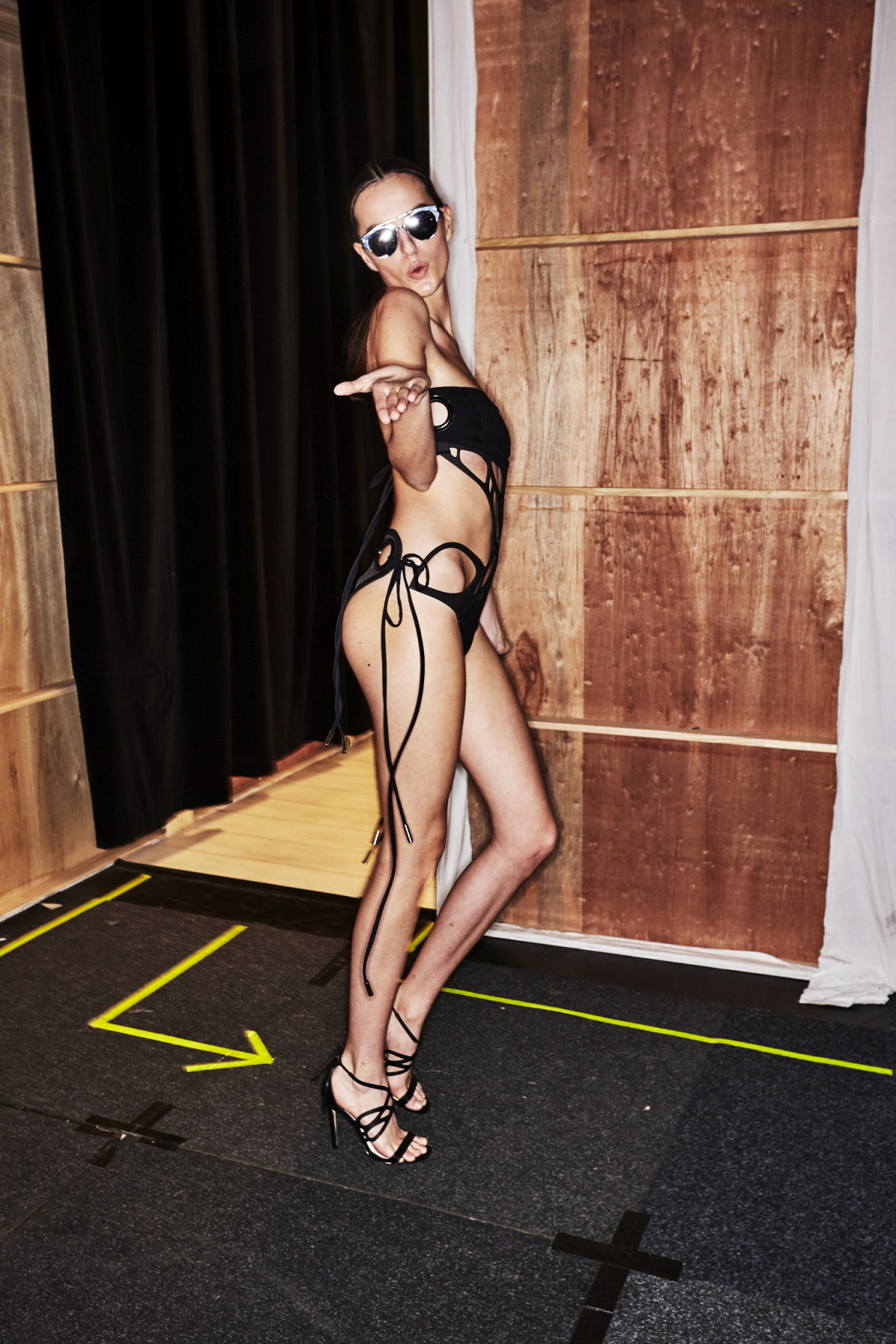 Handsy Swimwear by Emma Standen Resort 2018 Fashion Show Sydney Backstage