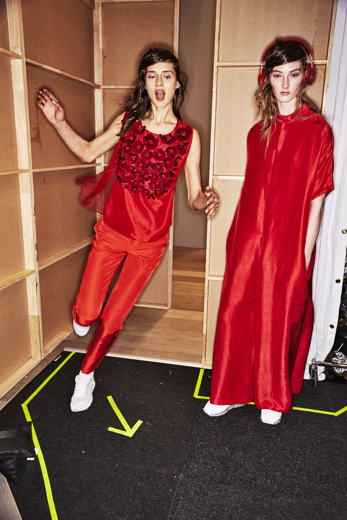 Akira Resort 2018 Fashion Show Sydney Backstage